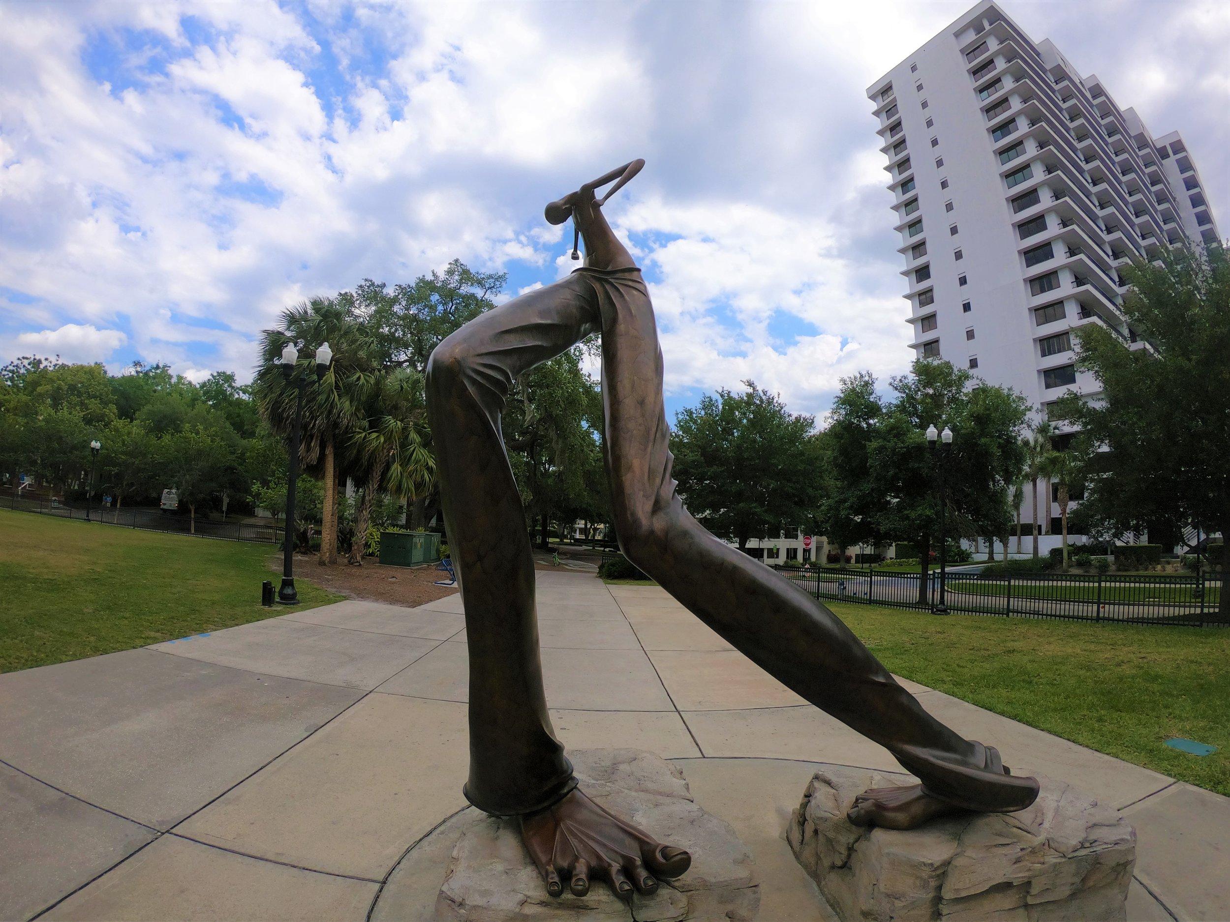Monument in Right Feet Major by Todji Kurtzman