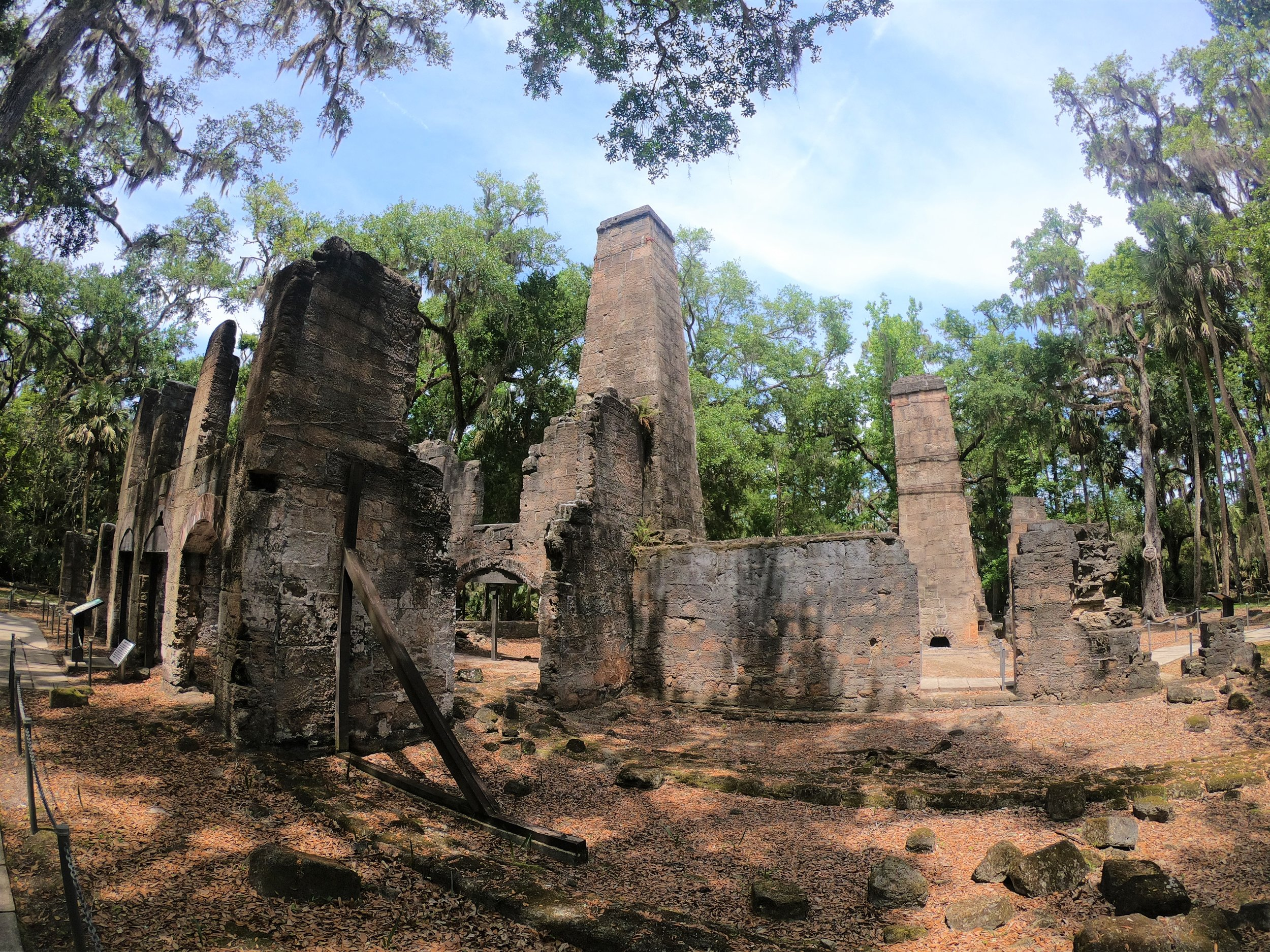 Bulow Plantation Ruins in Florida