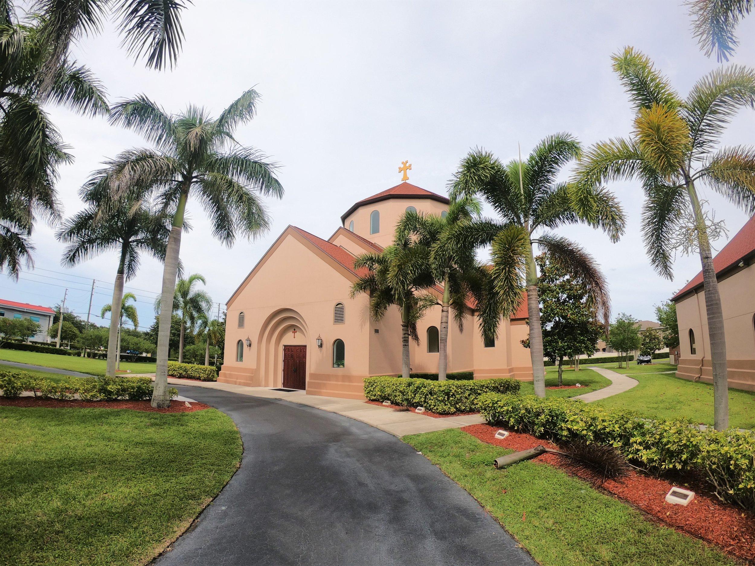 St. Hagop Armenian Church in Pinellas Park, Fl