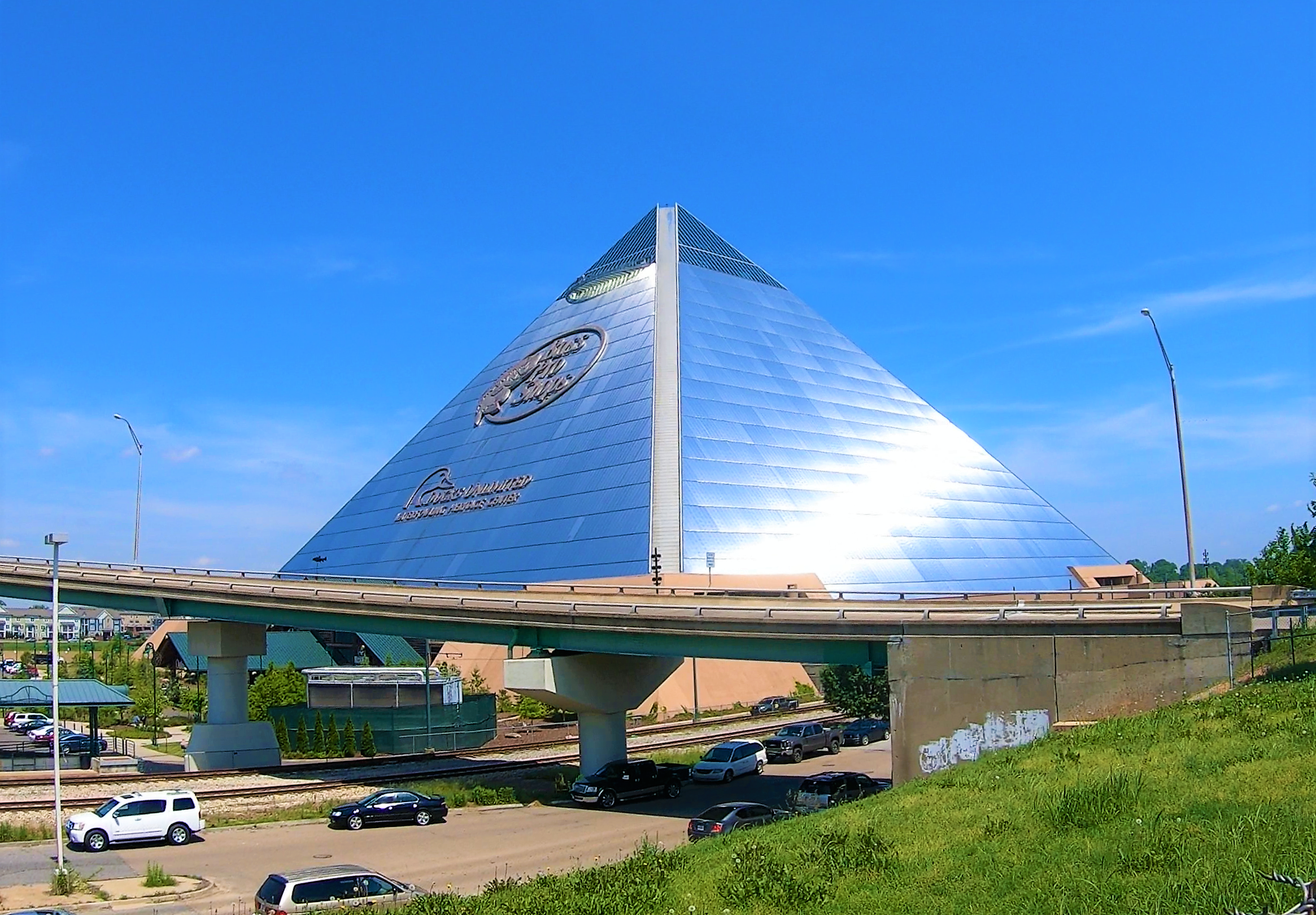 Bass Pro Shops Pyramid in Memphis, Tennessee