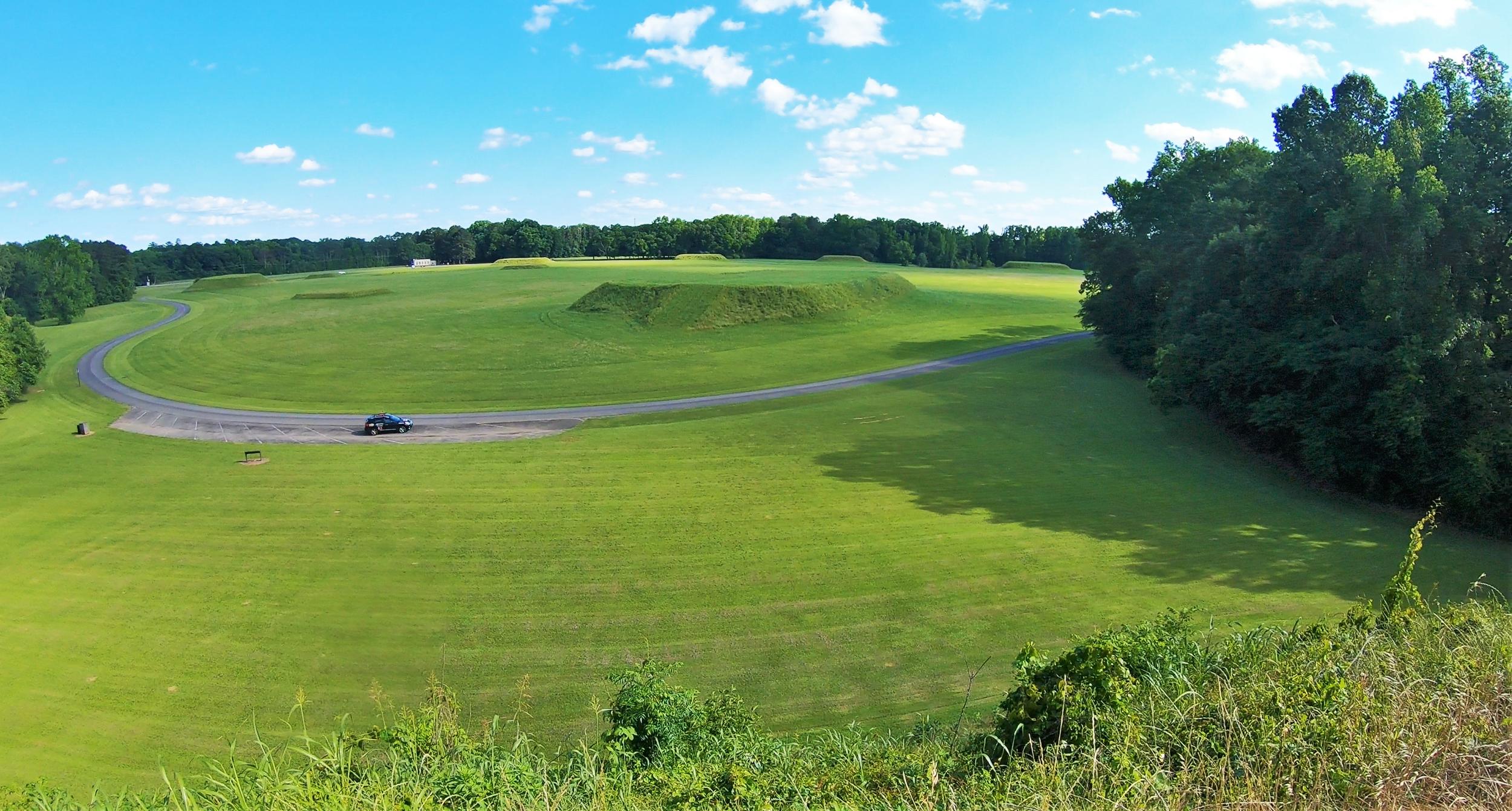 Moundville Archaeological Park in Alabama