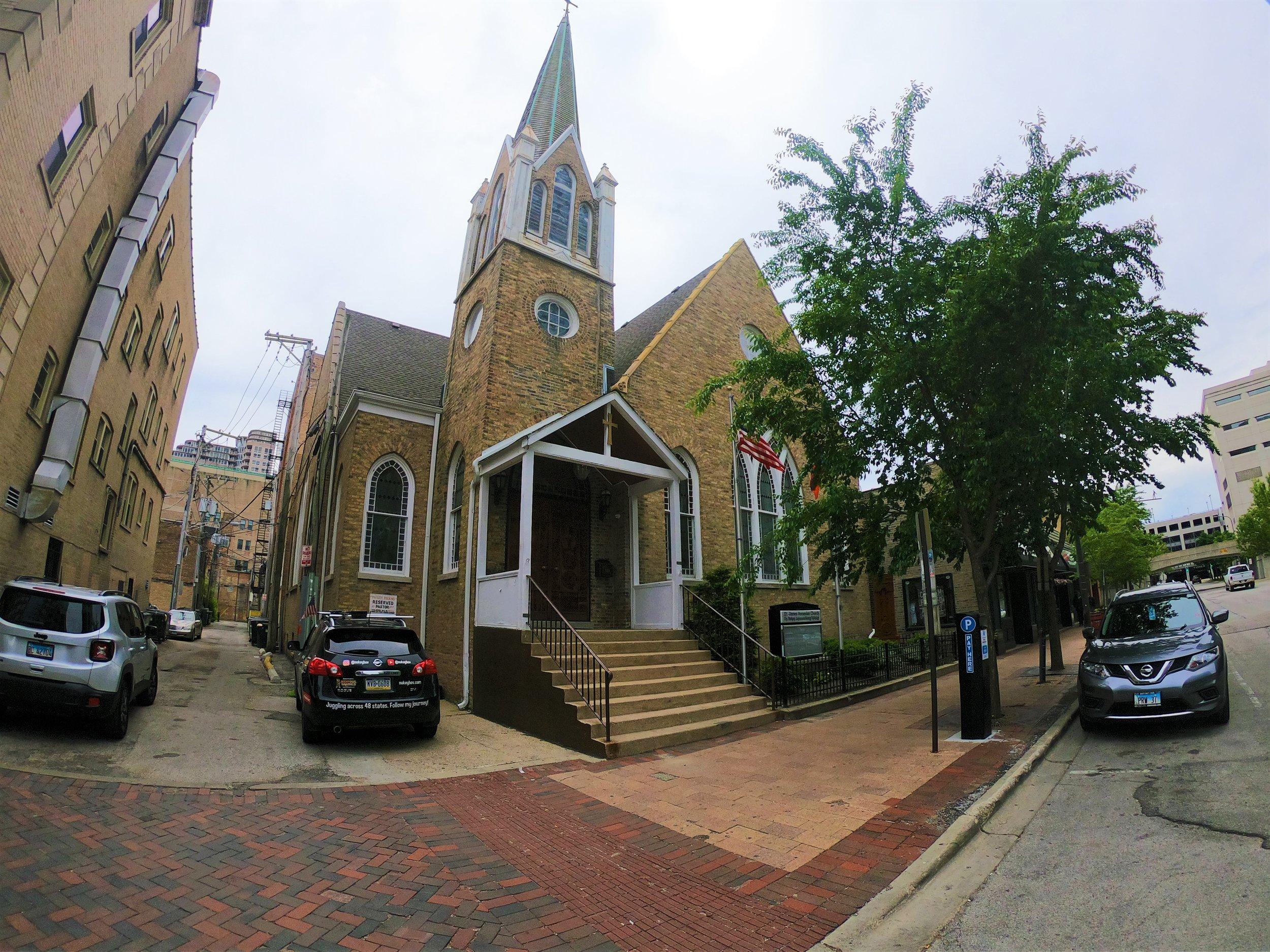 St. James Armenian Church in Evanston, Illinois