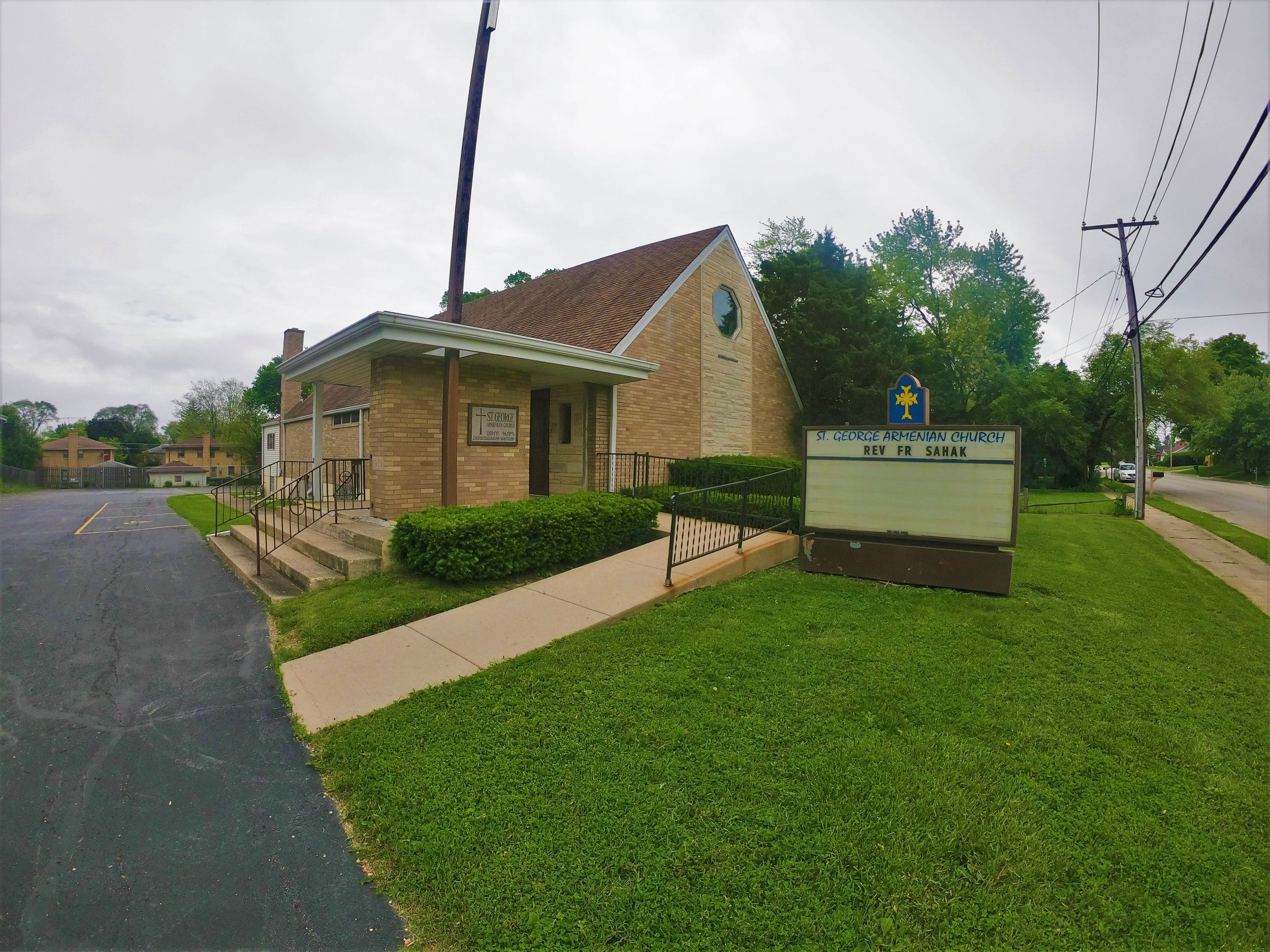 St. George Armenian Apostolic Church in Waukegan, Illinois