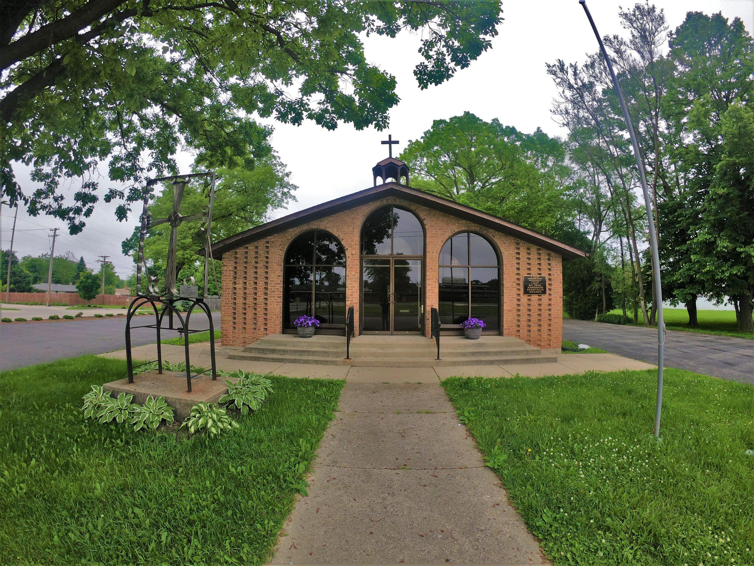 St. Paul Armenian Apostolic Church in Waukegan, Illinois
