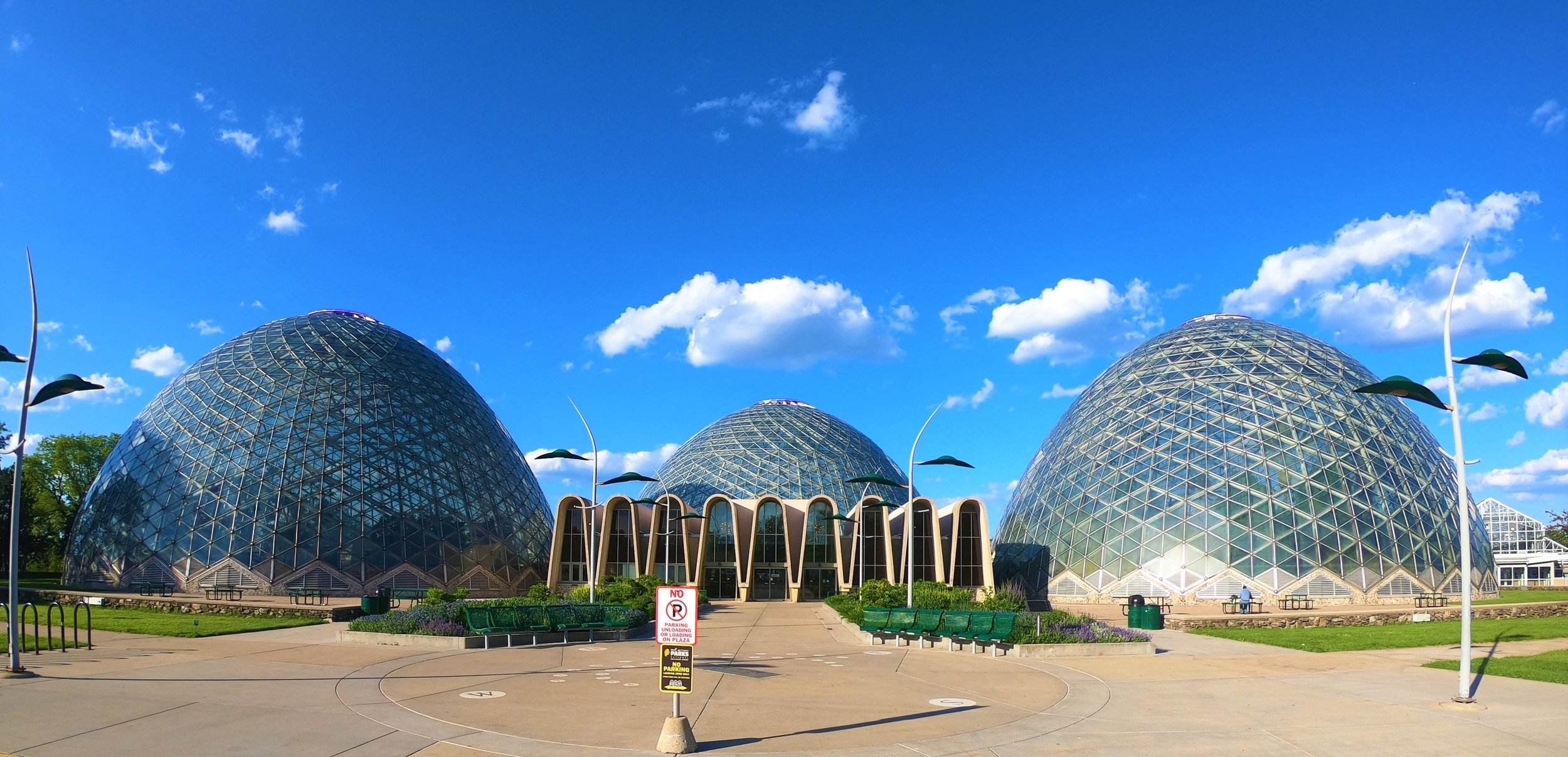 Mitchell Park Domes in Milwaukee, Wisconsin