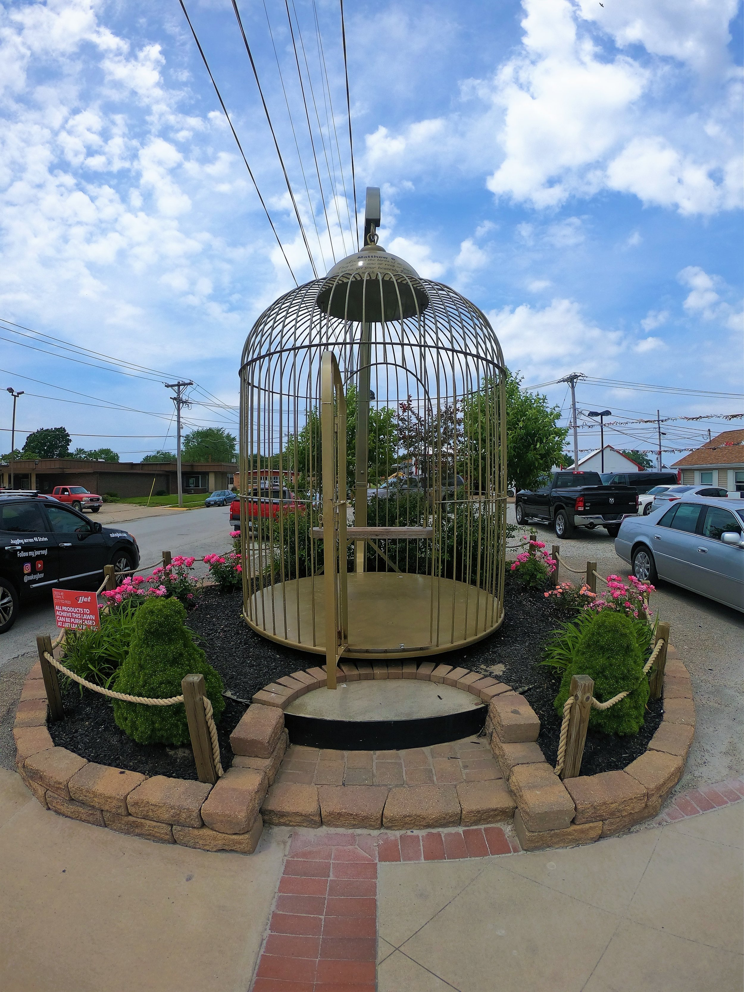 World's Largest Birdcage in Casey, Illinois