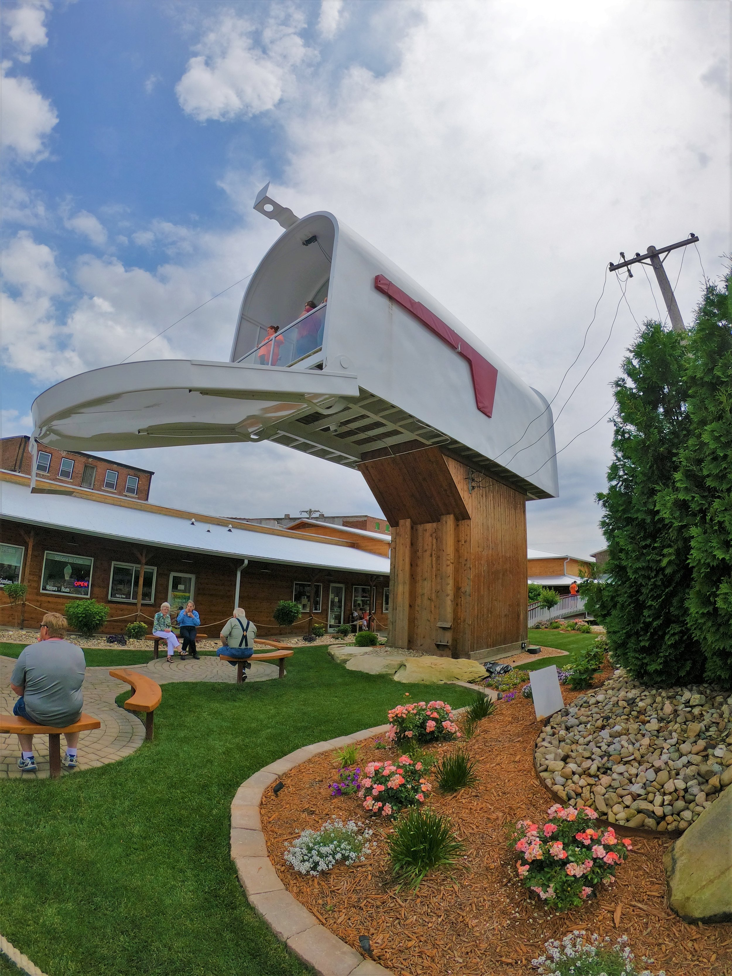 World's Largest Mailbox in Casey, Illinois