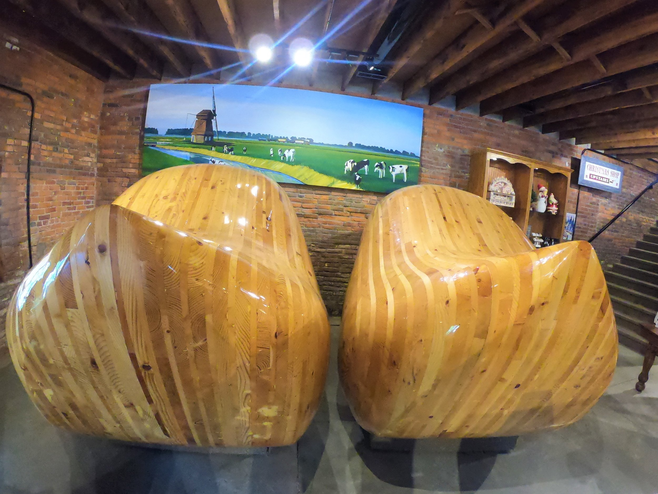 World's Largest Wooden Shoes in Casey, Illinois