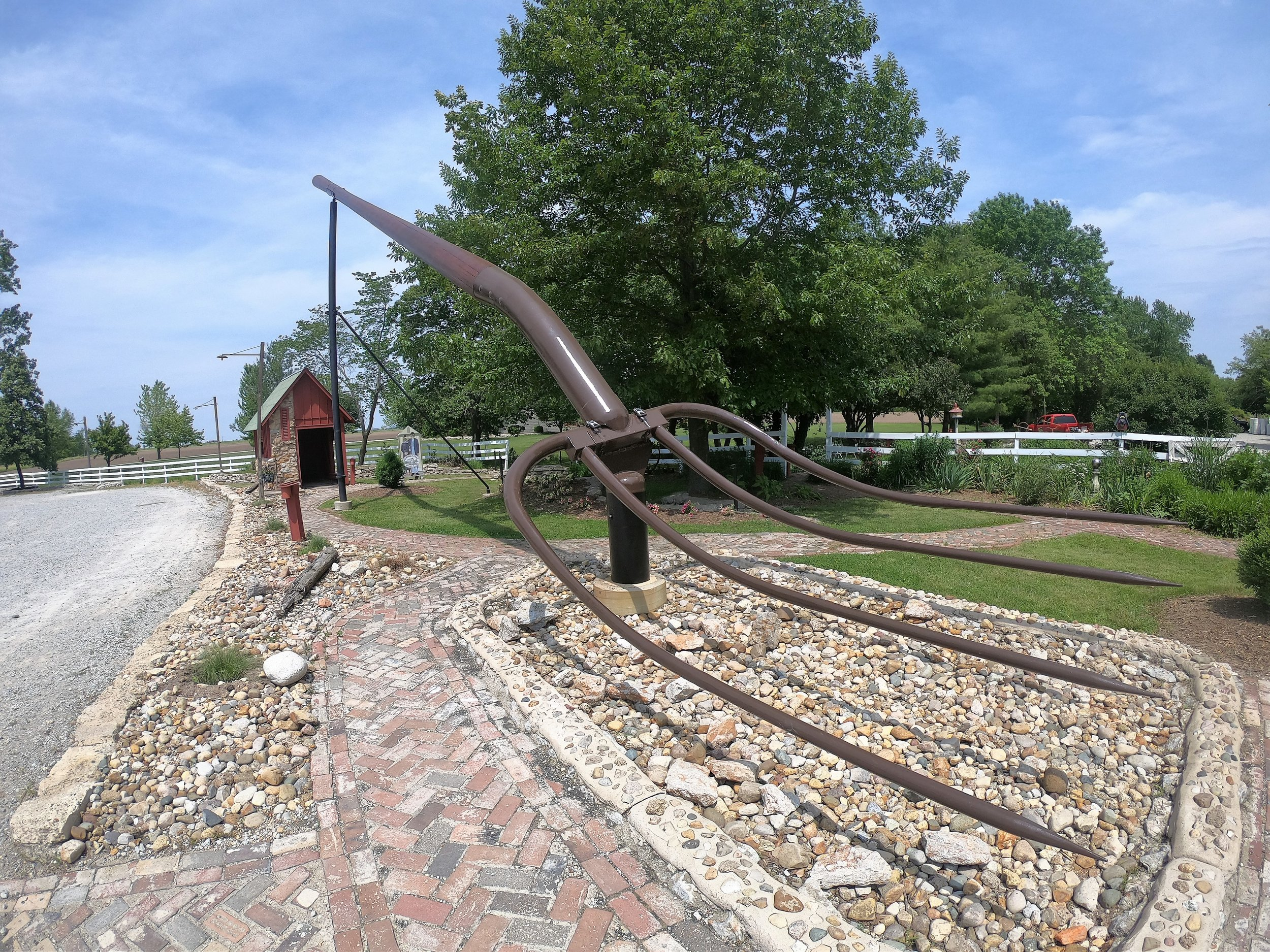 World's Largest Pitchfork in Casey, Illinois