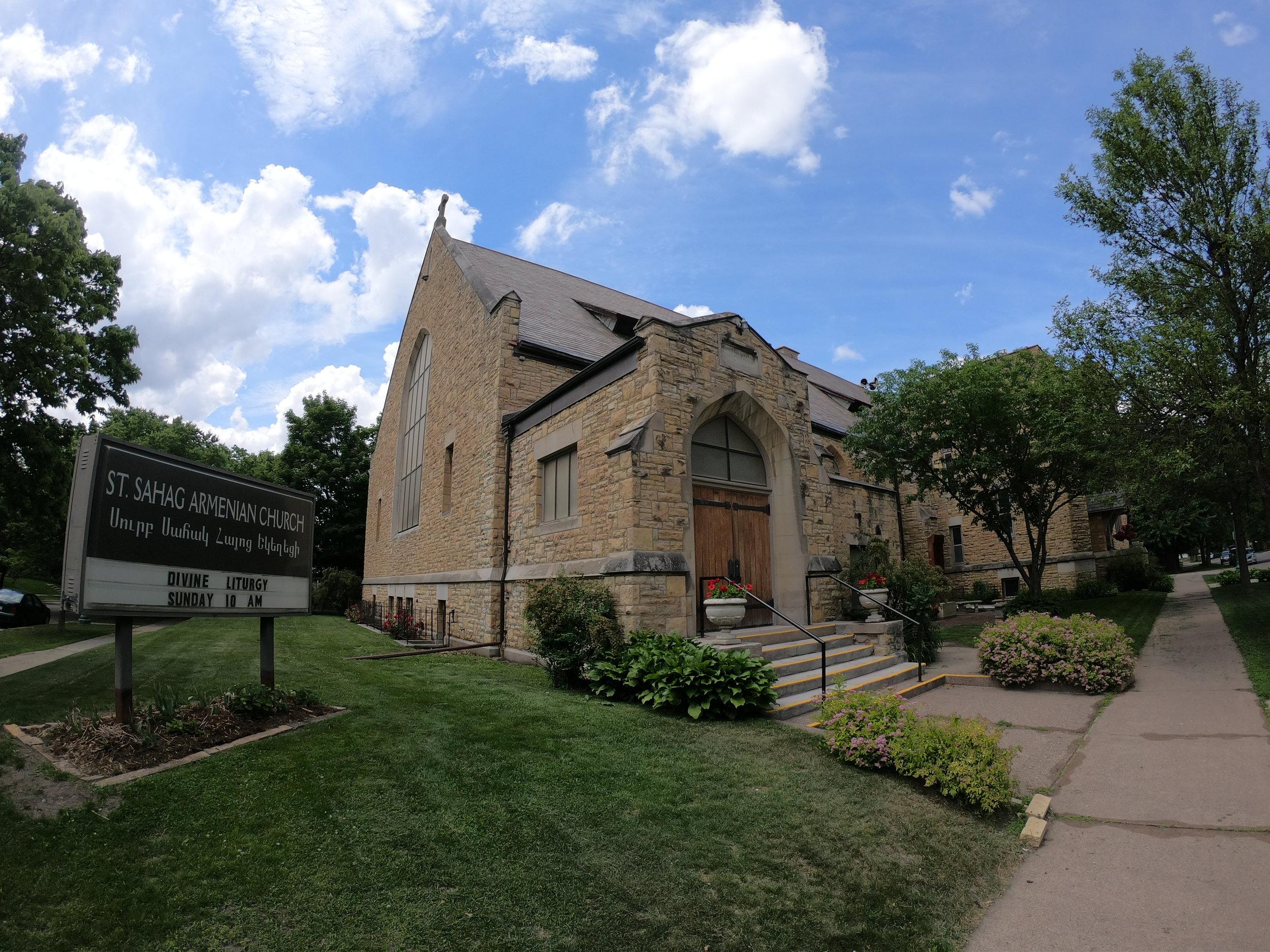 St. Sahag Armenian Church in St. Paul, Minnesota