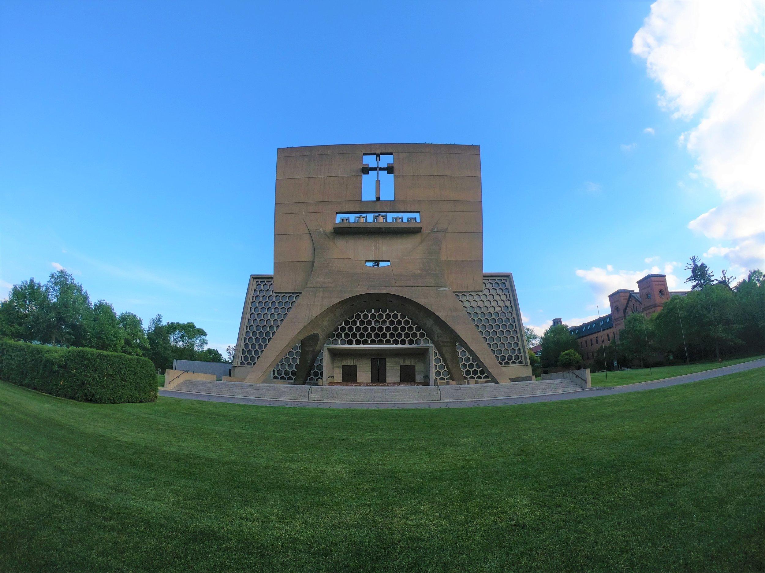 St. John's Abbey Church in St. Joseph, Minnesota