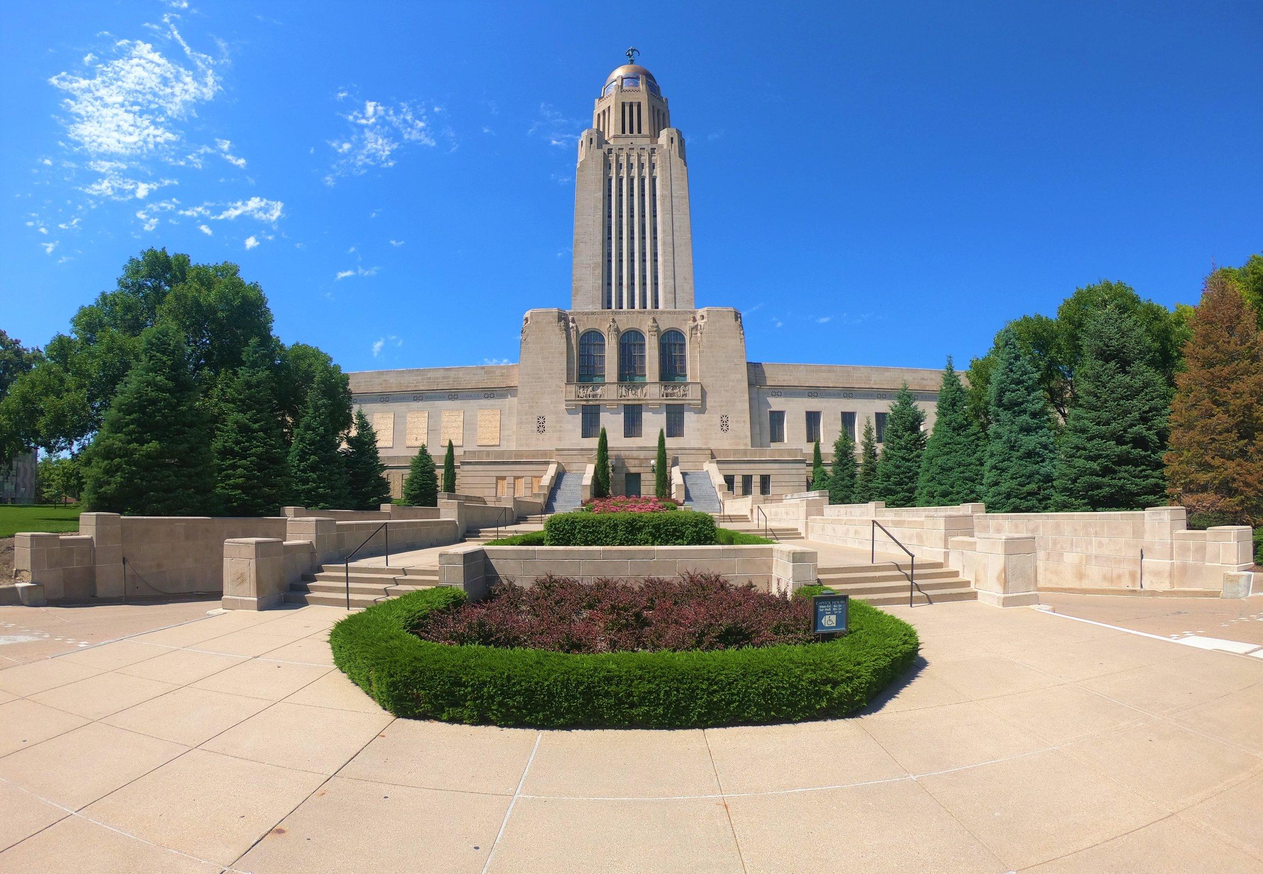 Nebraska State Capitol in Lincoln