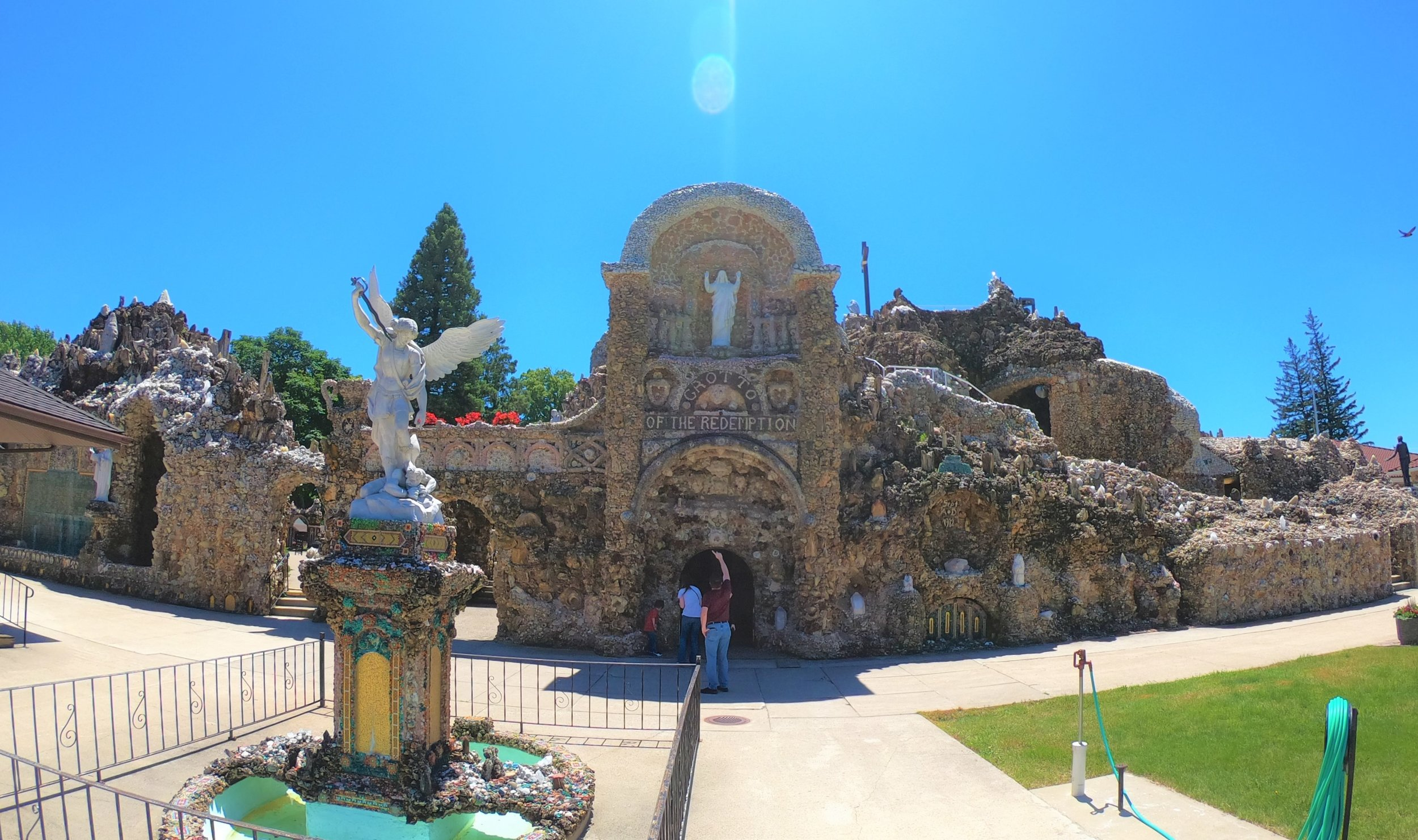 Grotto of the Redemption in West Bend, Iowa