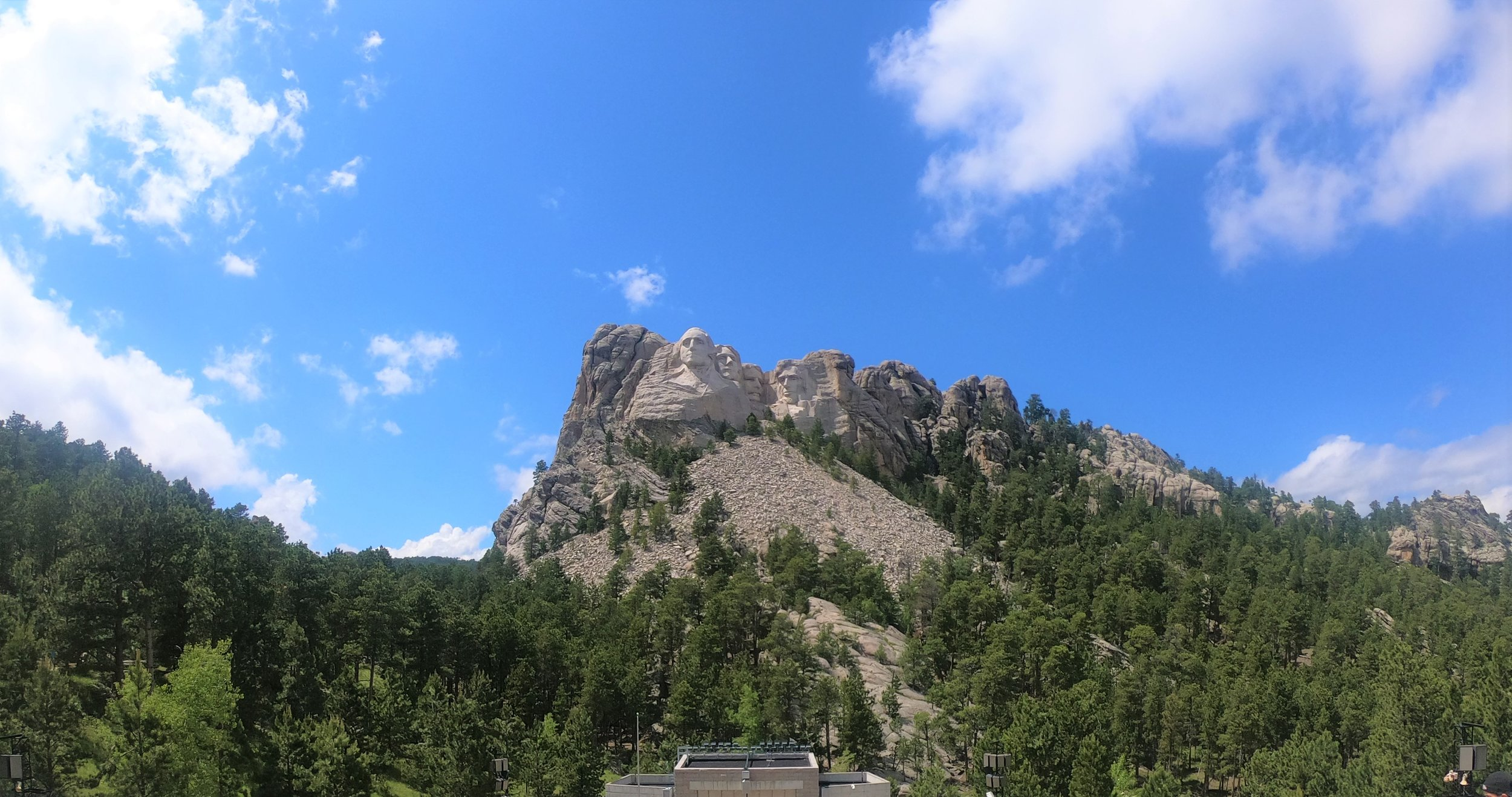 Mount Rushmore in the Black Hills, South Dakota