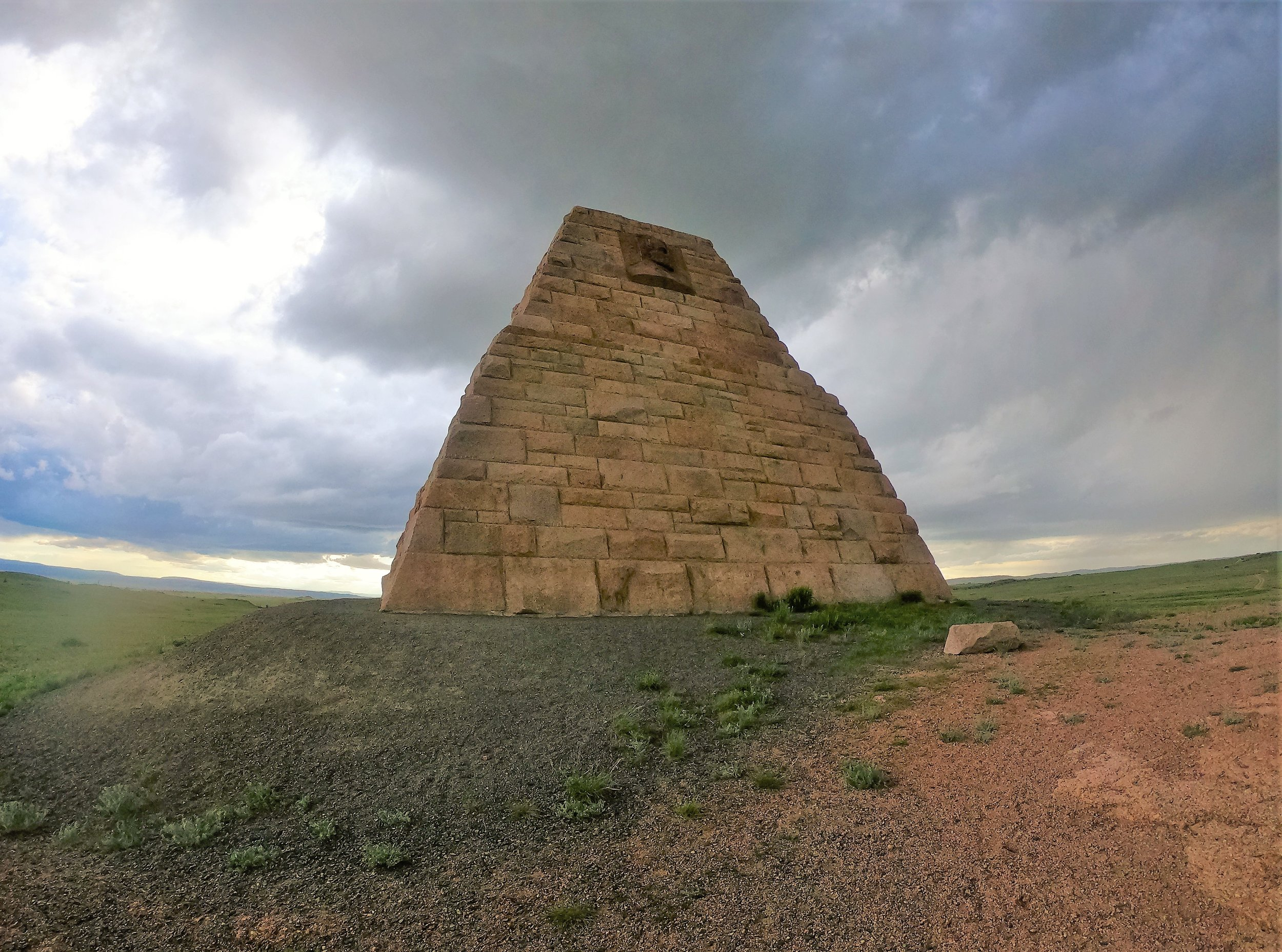 Ames Monument in Wyoming