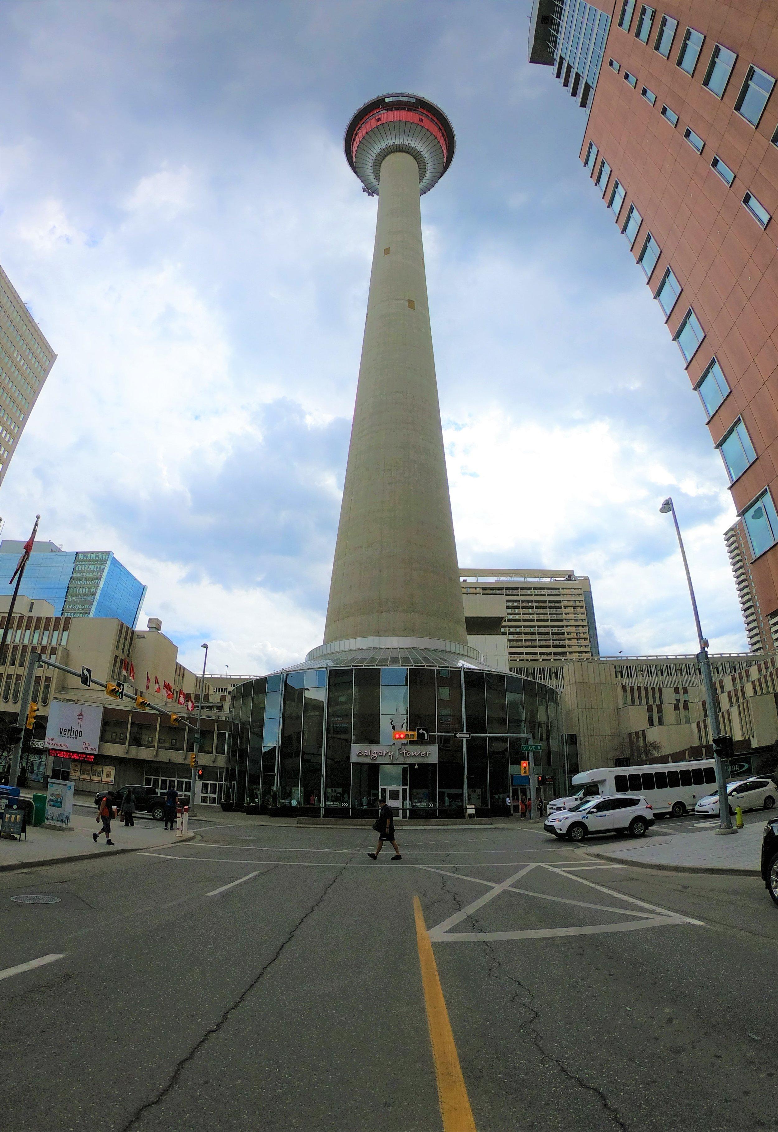 Calgary Tower in Calgary, Alberta, Canada