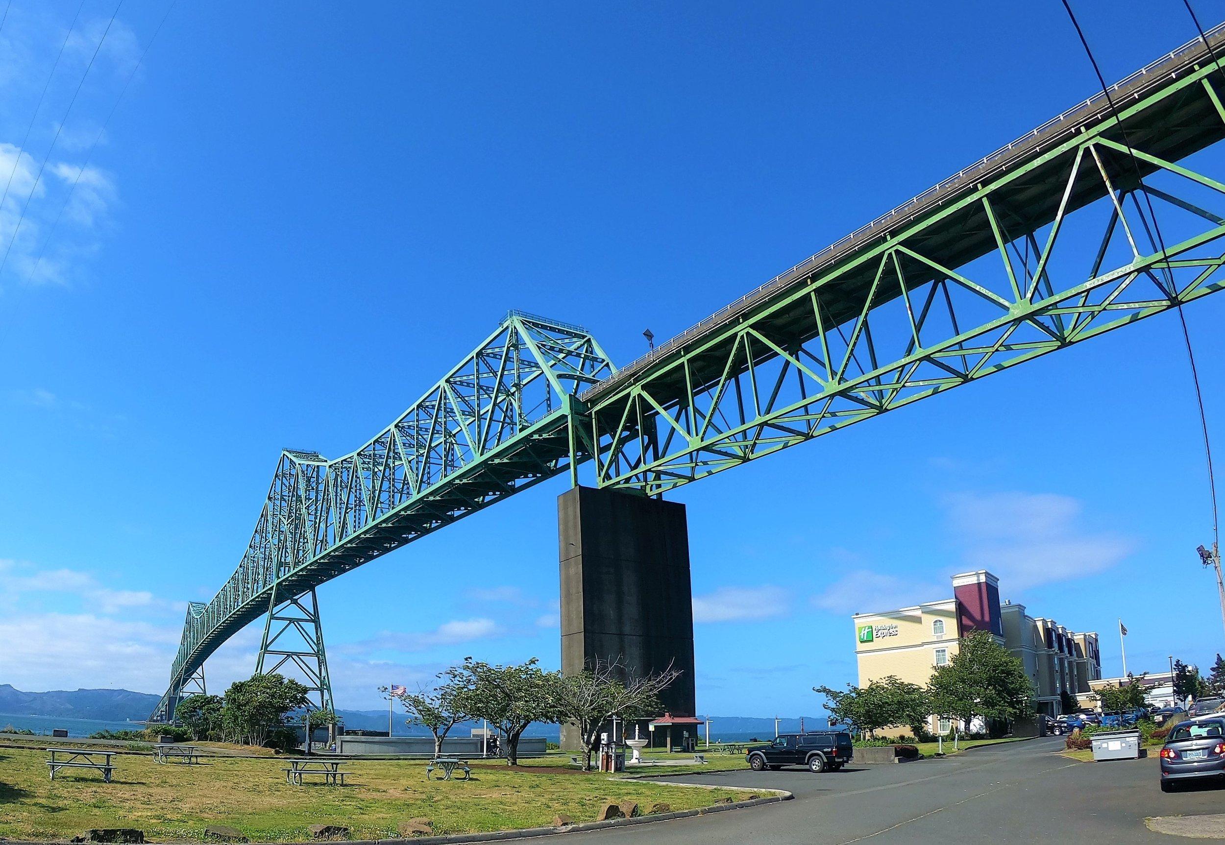 Astoria-Megler Bridge from Washington to Oregon