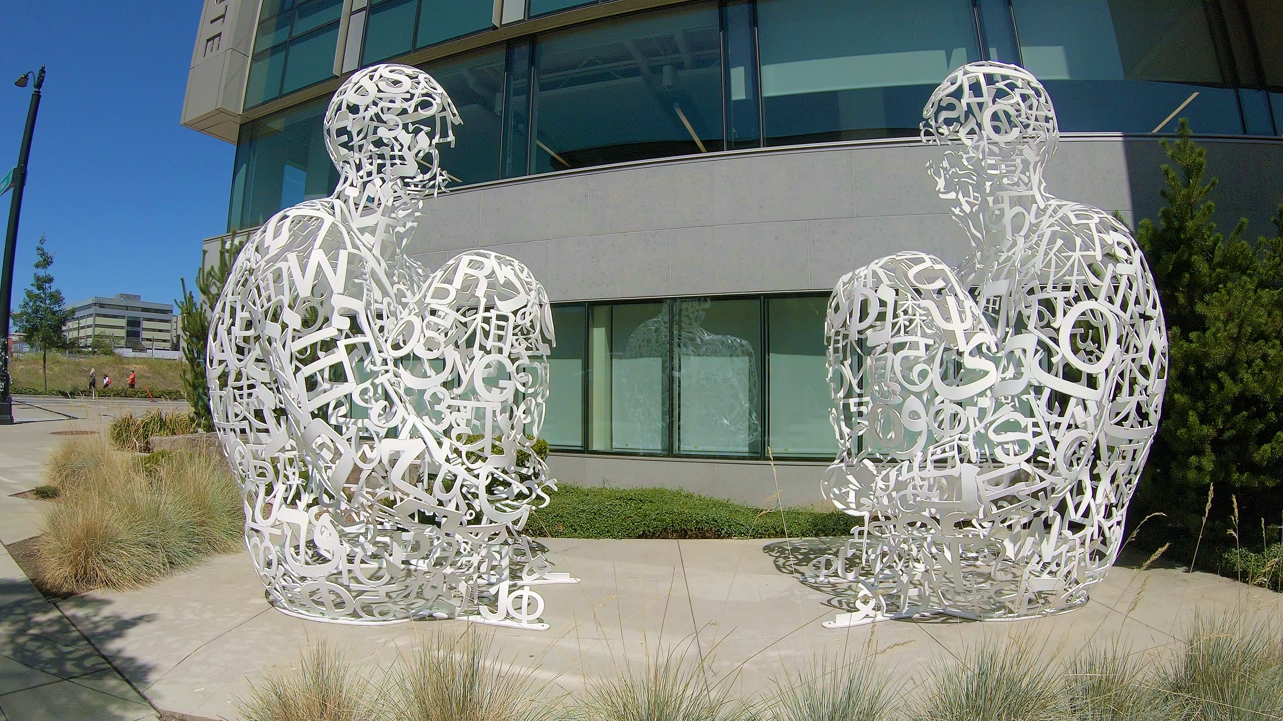 Meetings of Minds by Jaume Plensa