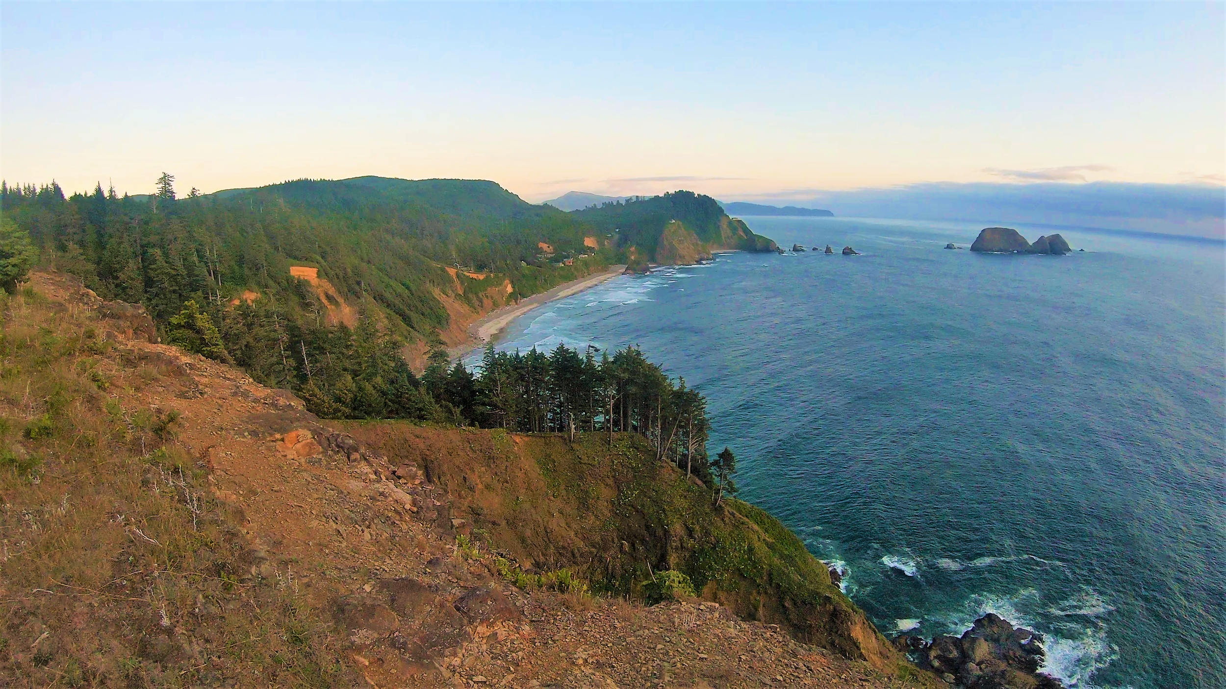 Cape Meares Scenic Overlook on Coastal Oregon