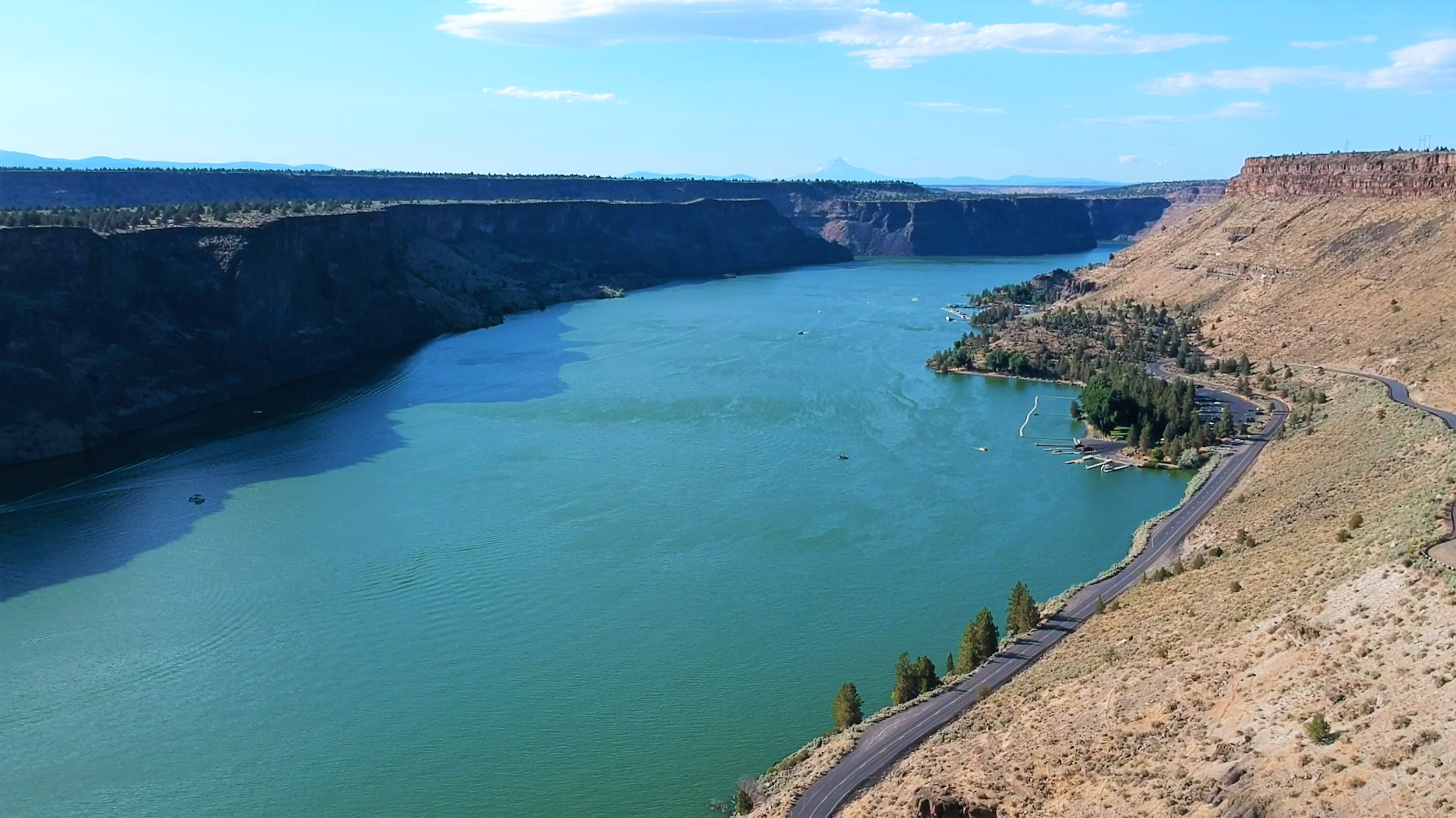 The Cove Palisades State Park in Oregon