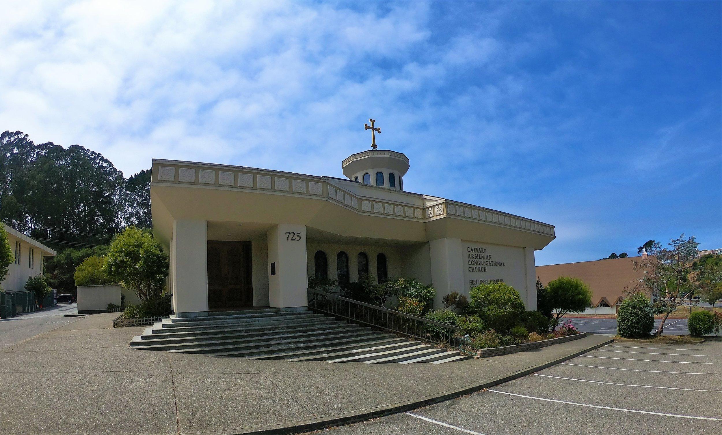 Calvary Armenian Congregational Church in San Francisco, California
