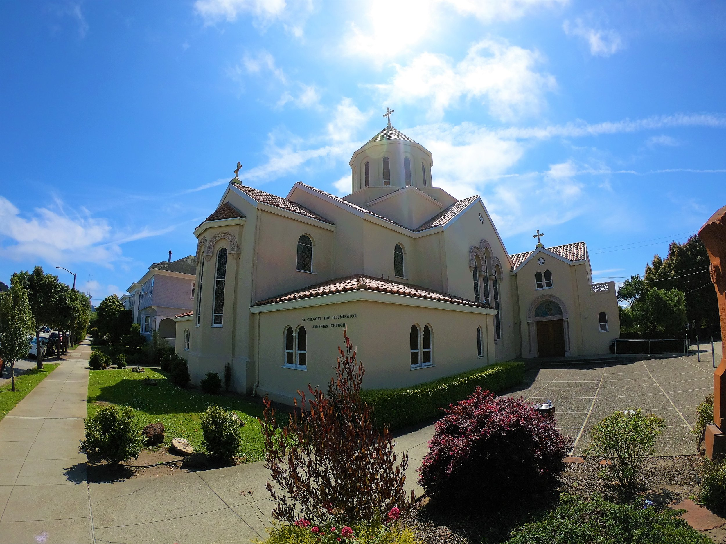St. Gregory the Illuminator Armenian Church in San Francisco, California