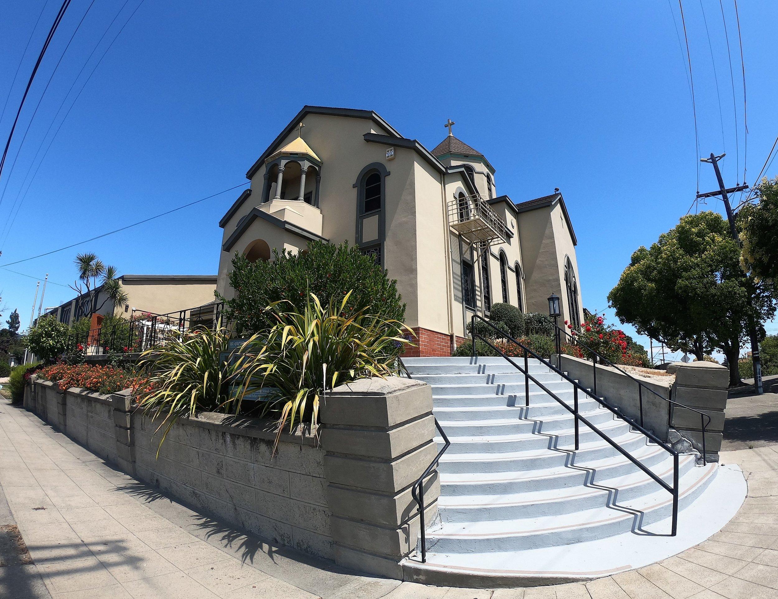 St. Vartan Armenian Apostolic Church in Oakland, California