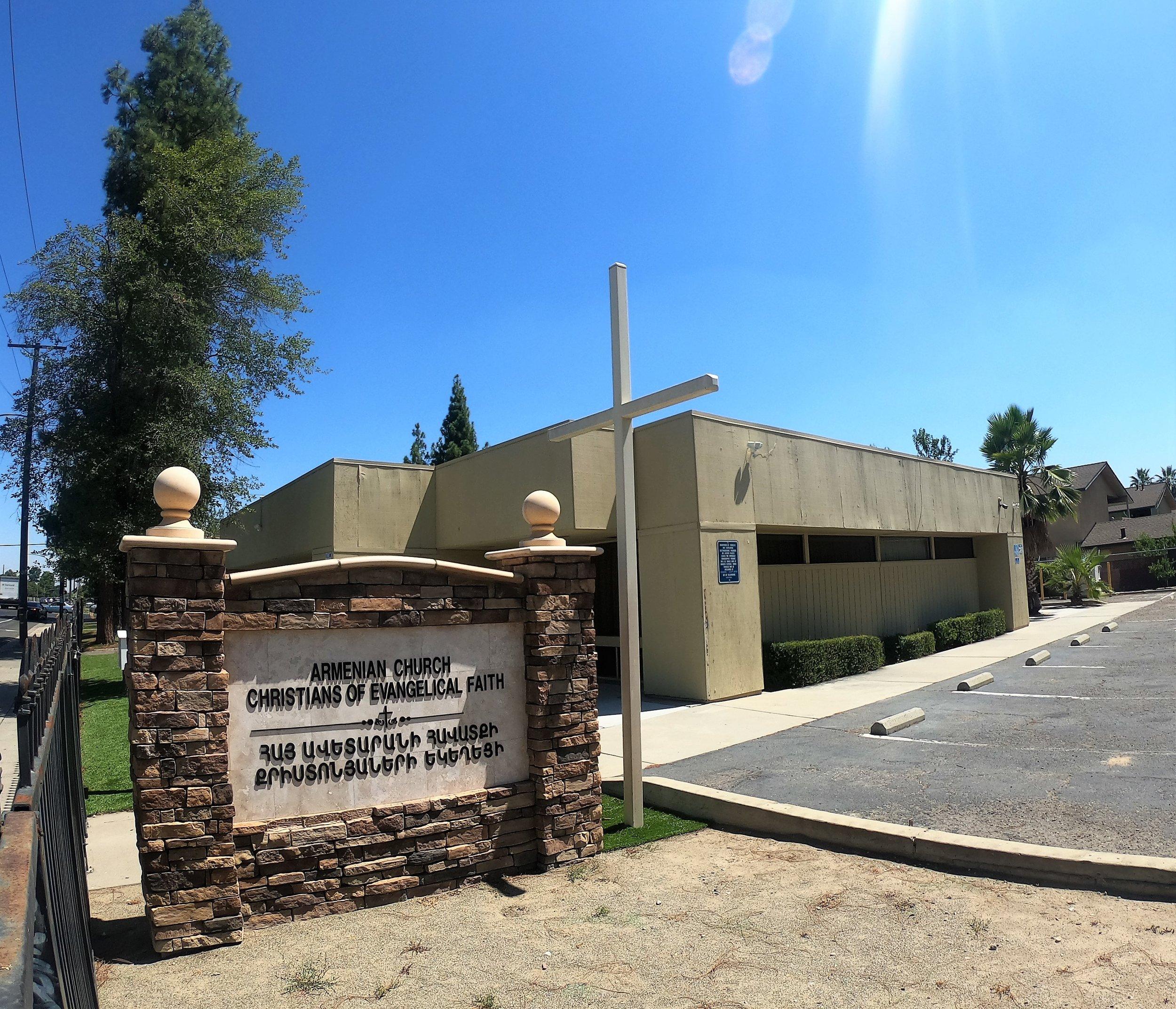 Armenian Church of Christian Evangelical Faith in Fresno, California