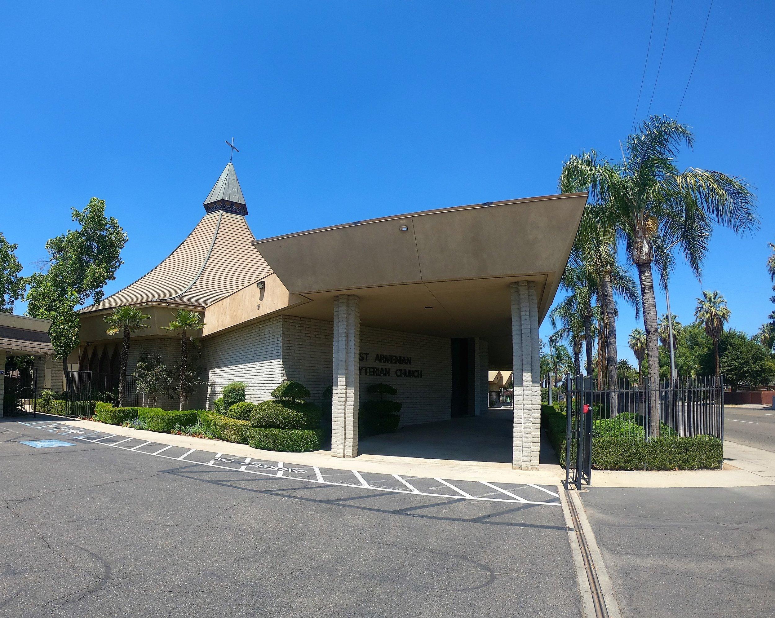 First Armenian Presbyterian Church in Fresno, California