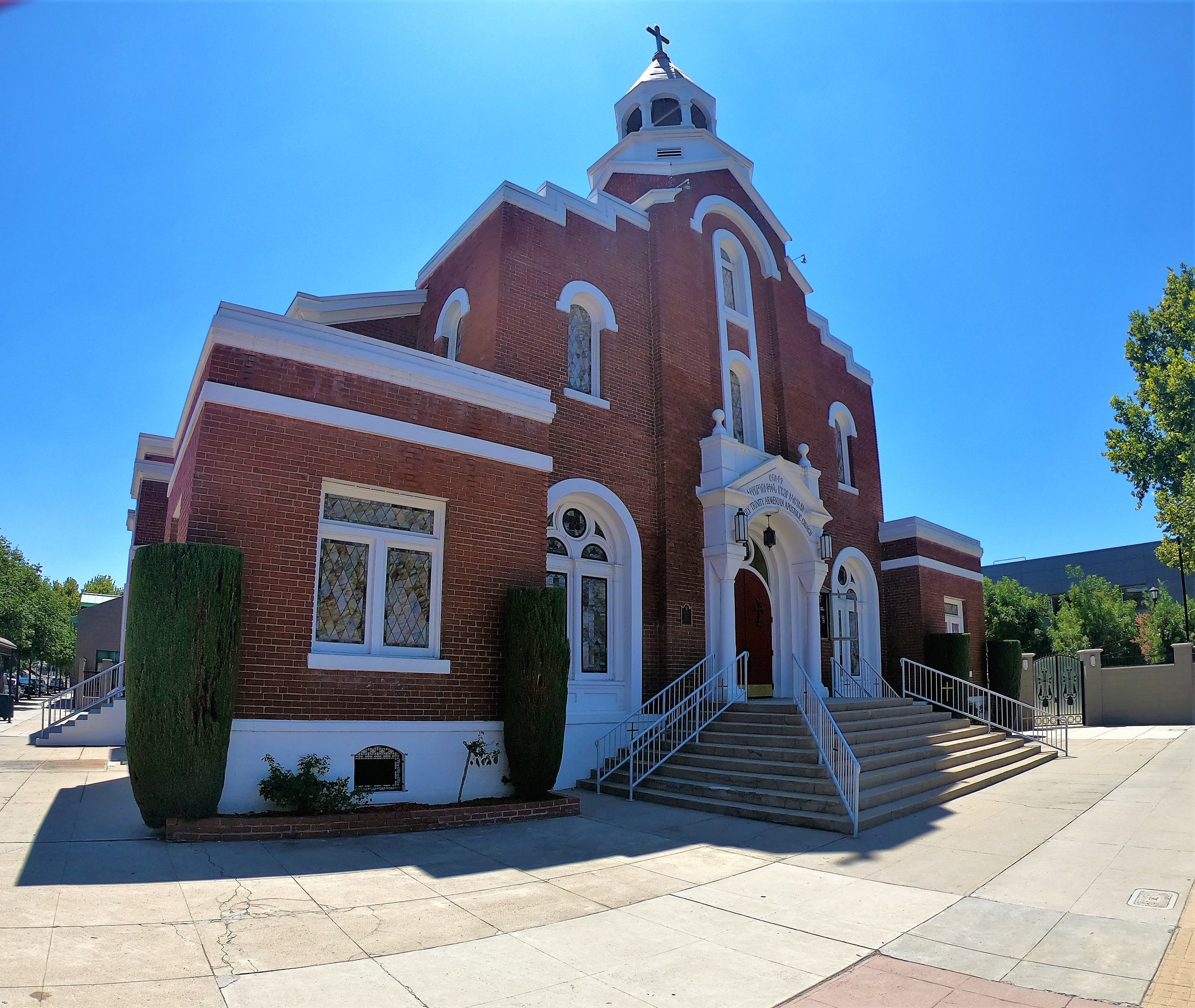 Holy Trinity Armenian Apostolic Church in Fresno, California