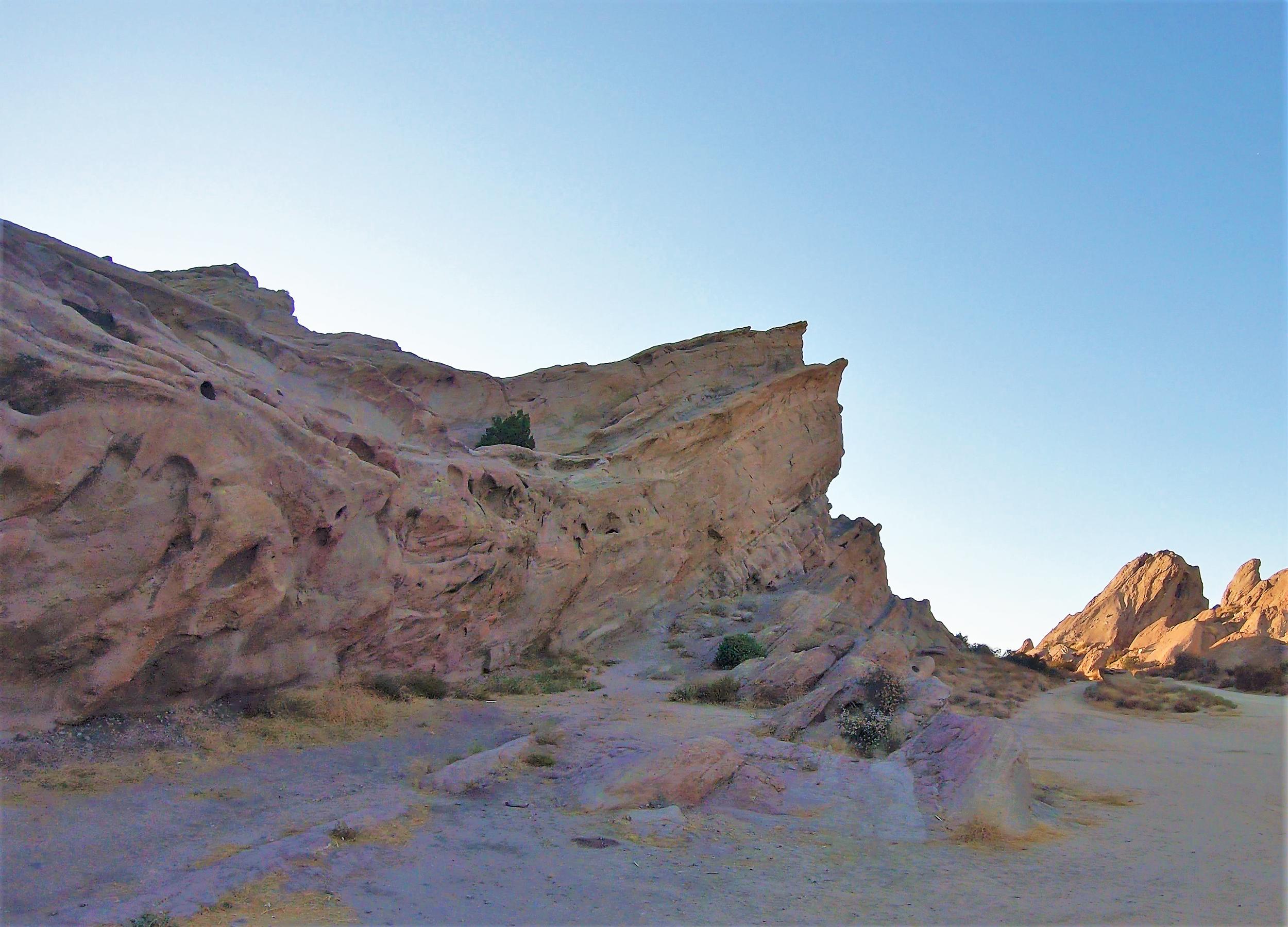 Vasquez Rocks in Los Angeles County