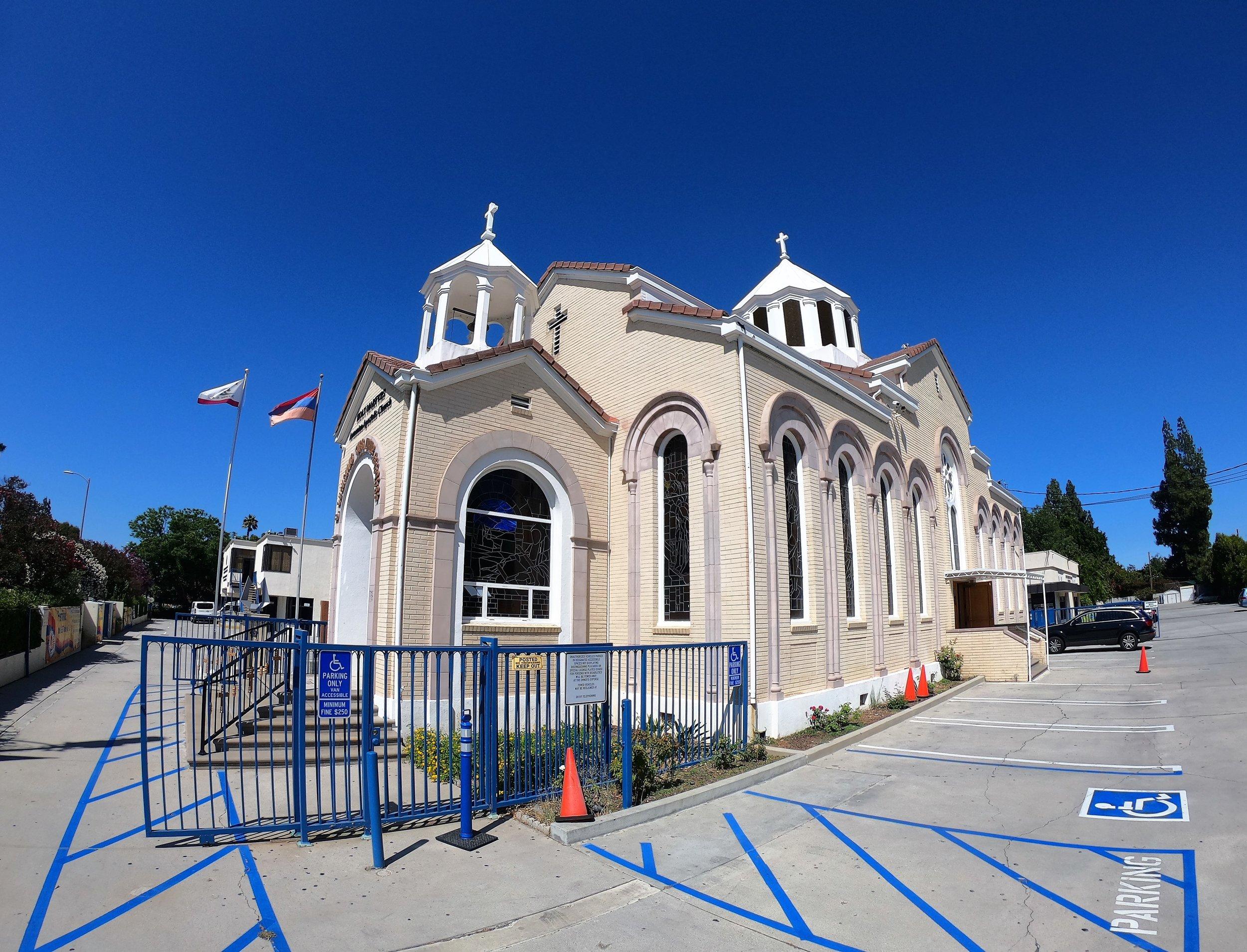 Holy Martyrs Armenian Apostolic Church in Los Angeles, California