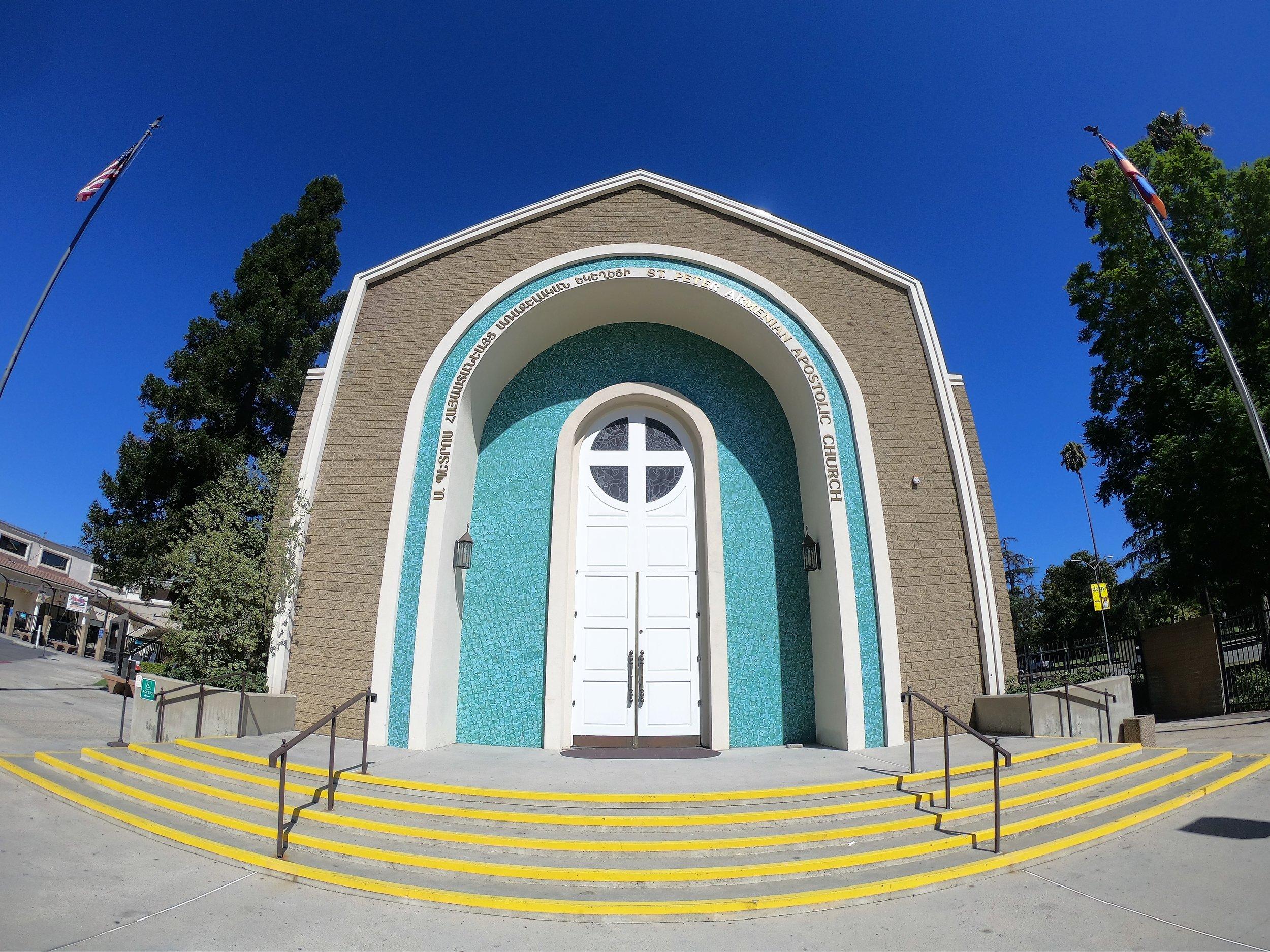St. Peter Armenian Apostolic Church in Los Angeles, California