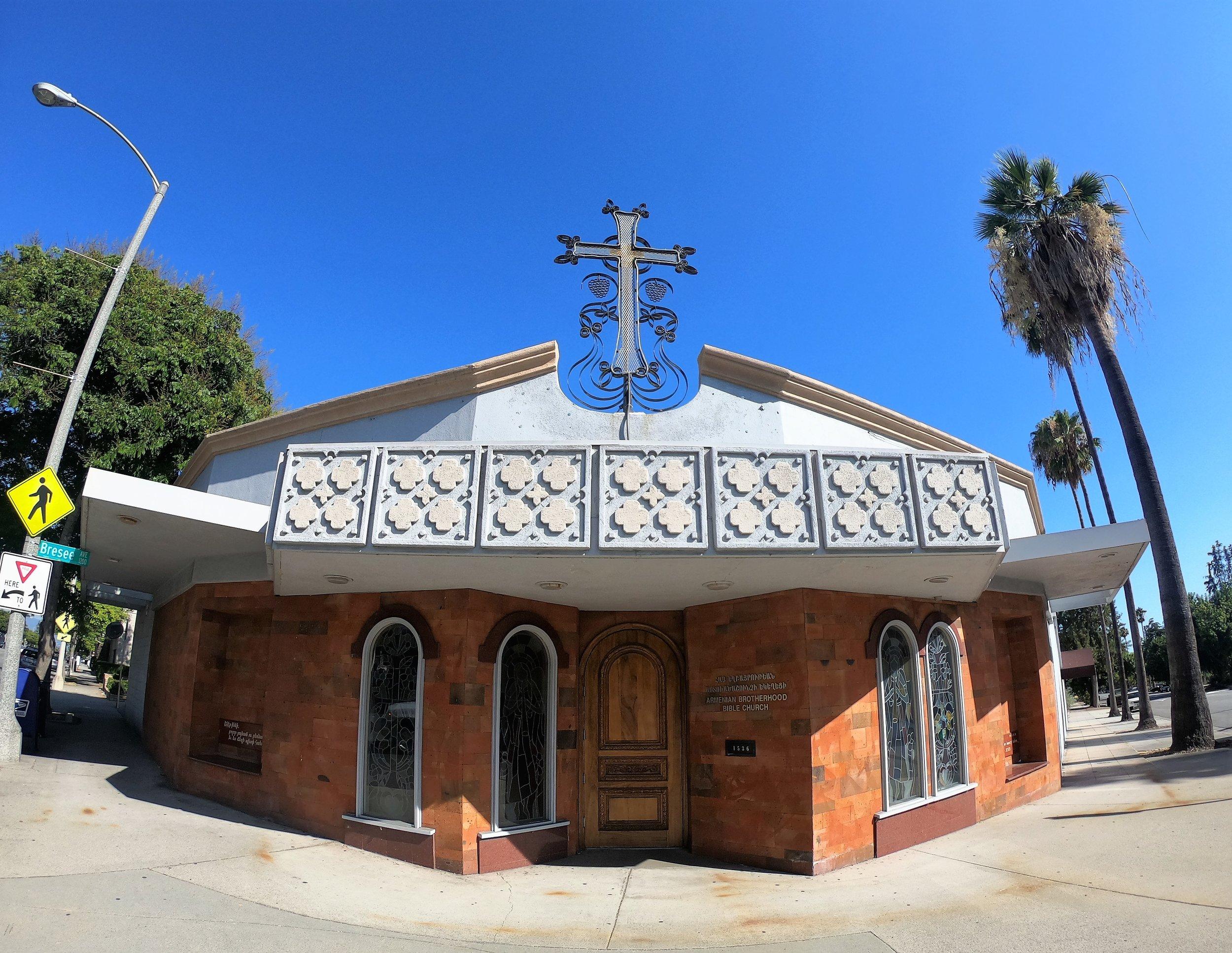 Armenian Brotherhood Bible Church in Pasadena, California