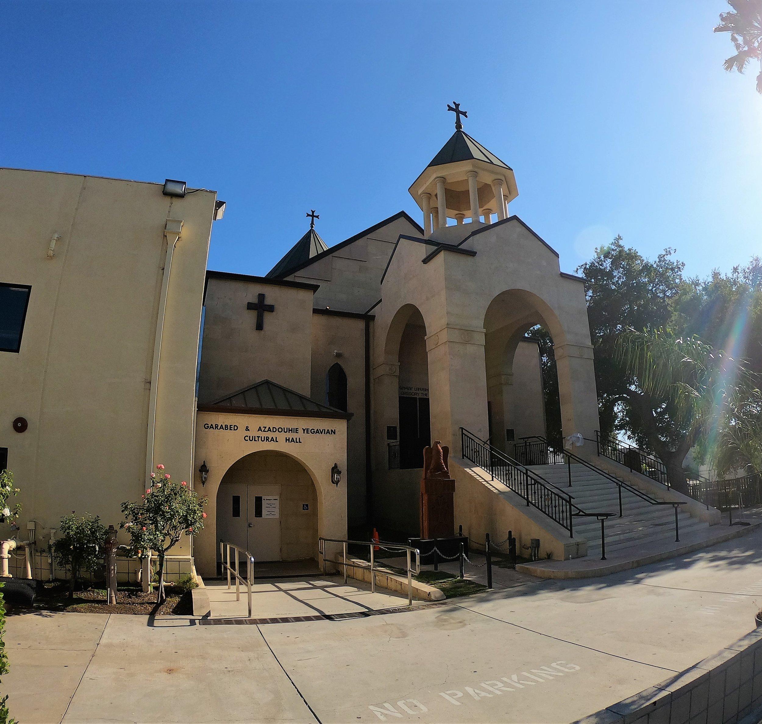St. Gregory Armenian Church in Pasadena, California