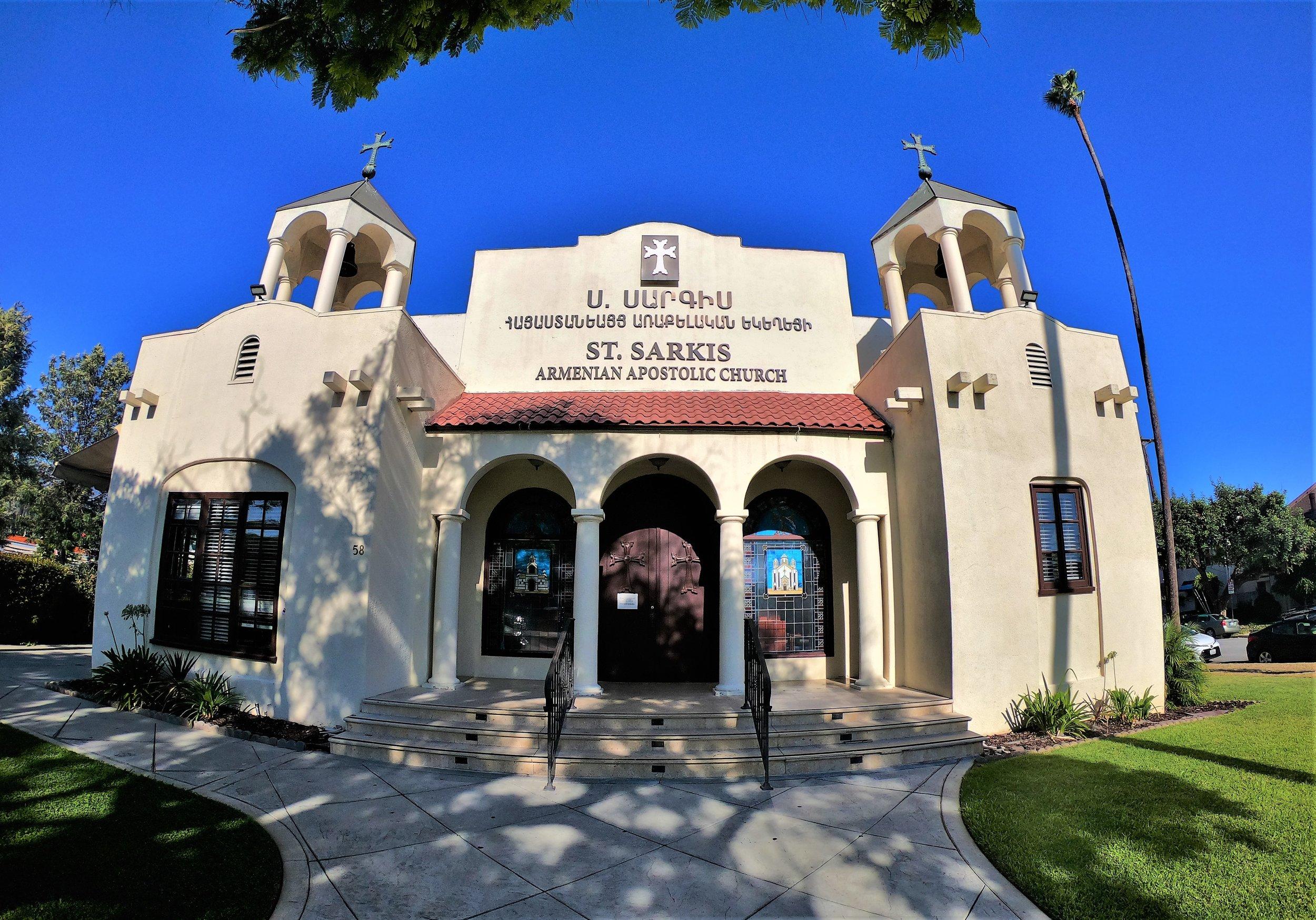 St. Sarkis Armenian Church in Pasadena, California