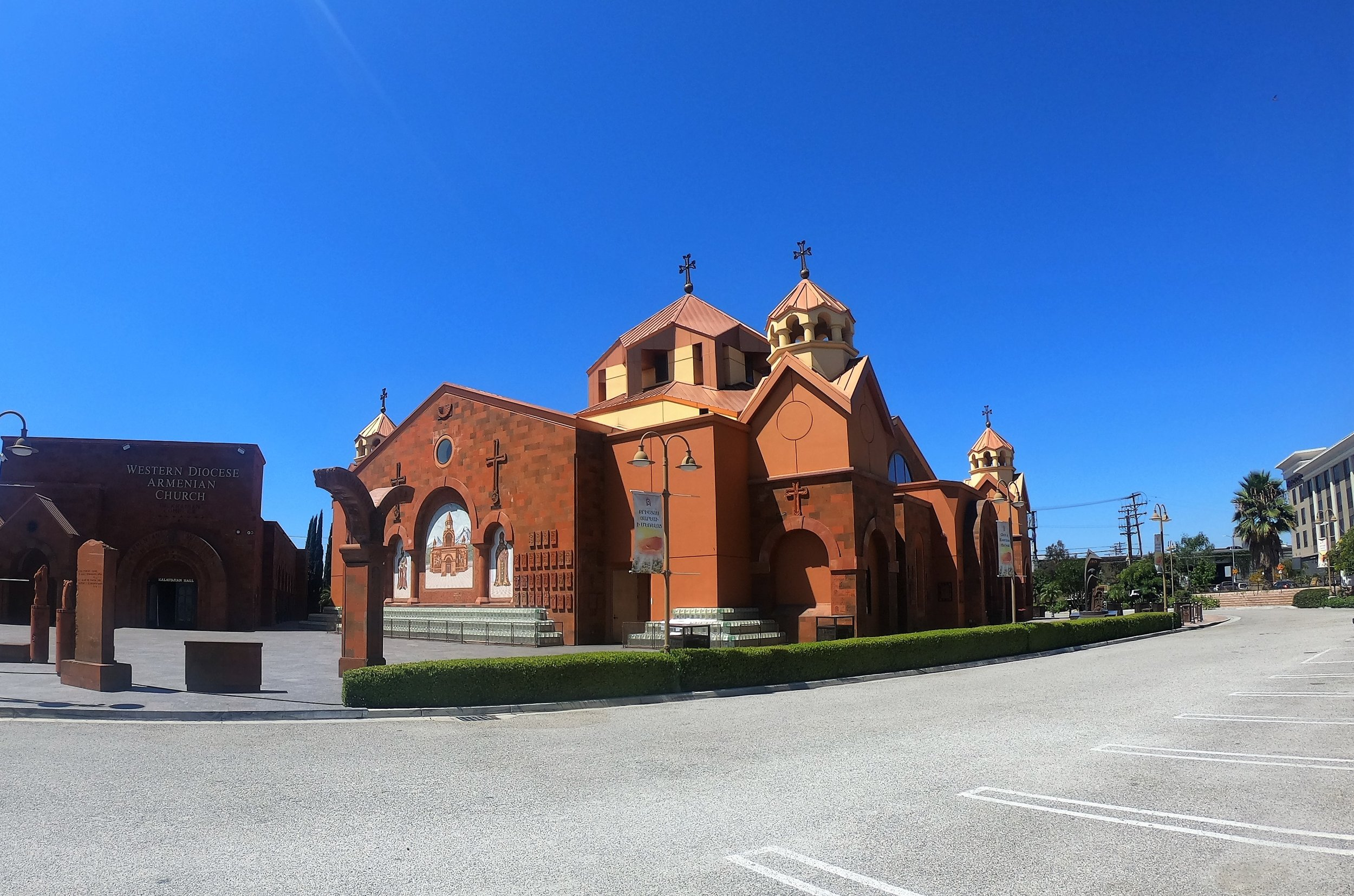 St. Leon Western Diocese Armenian Church in Burbank, California