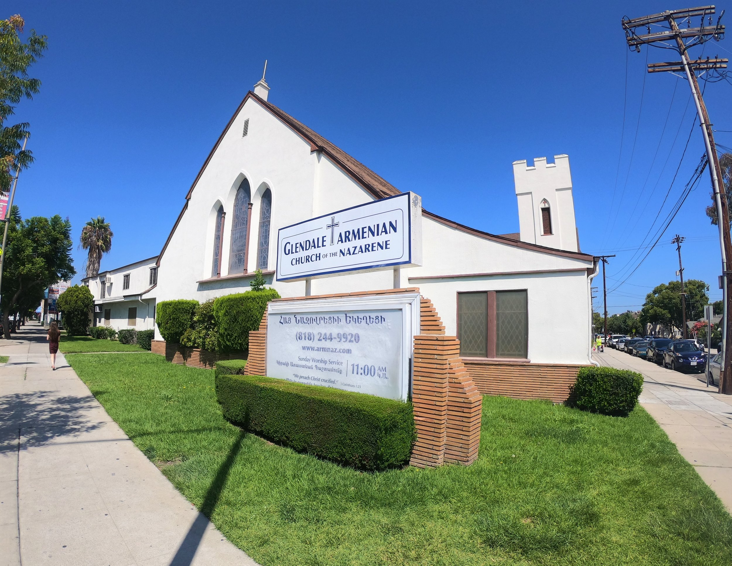 Armenian Church of the Nazarene in Glendale, California