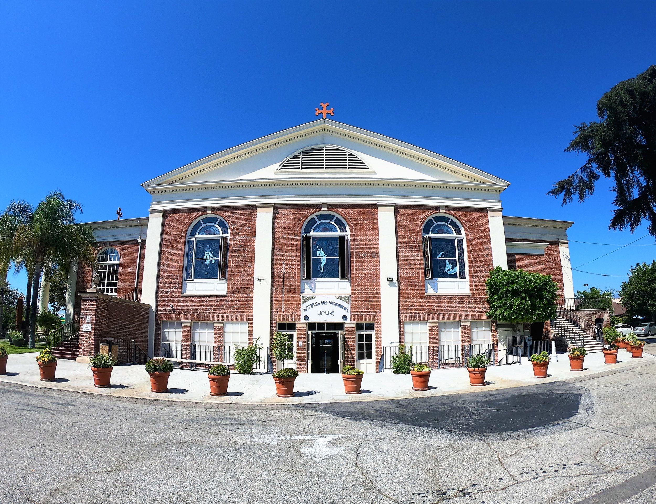 St. Mary's Armenian Apostolic Church in Glendale, California