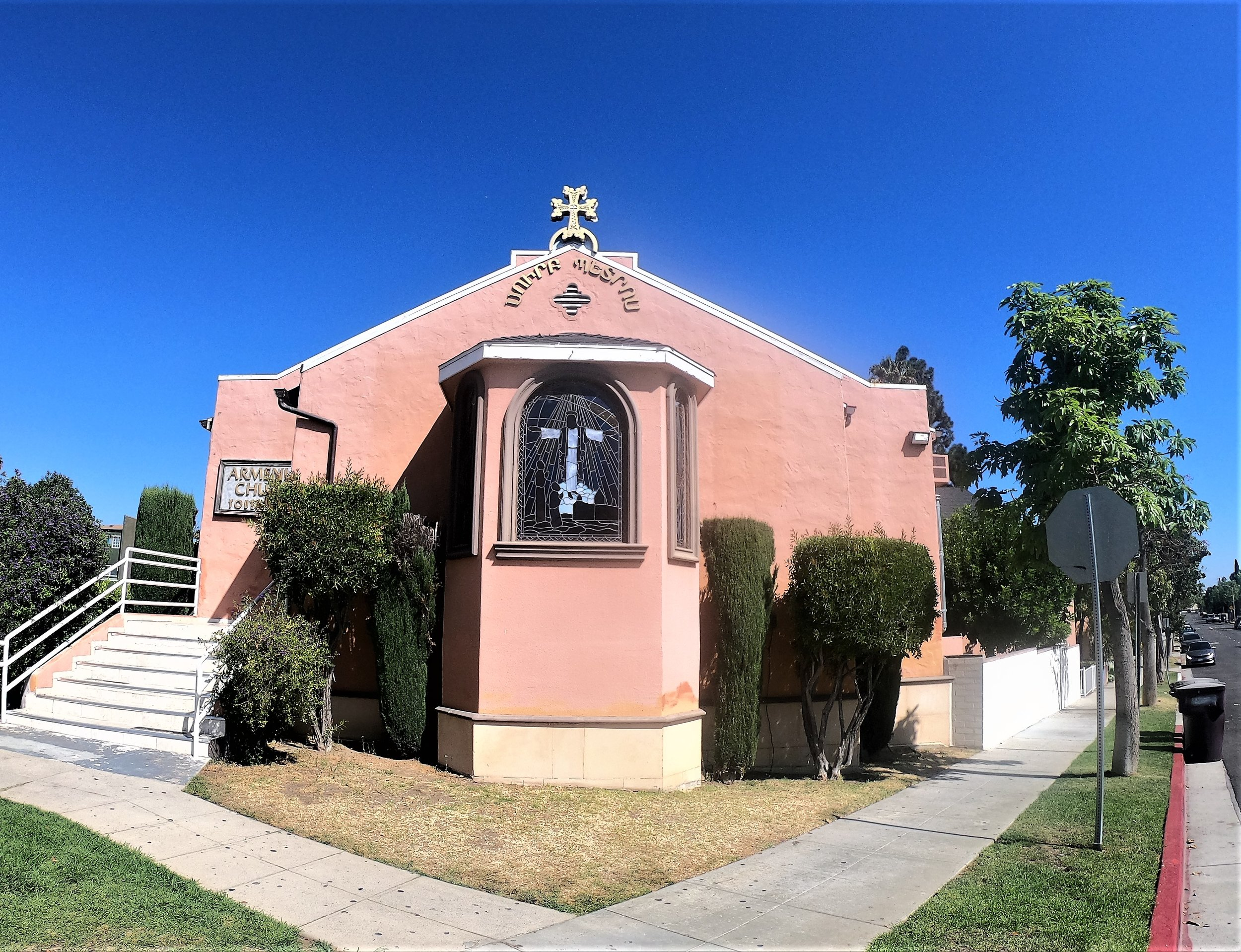 St. Peter Armenian Church in Glendale, California.