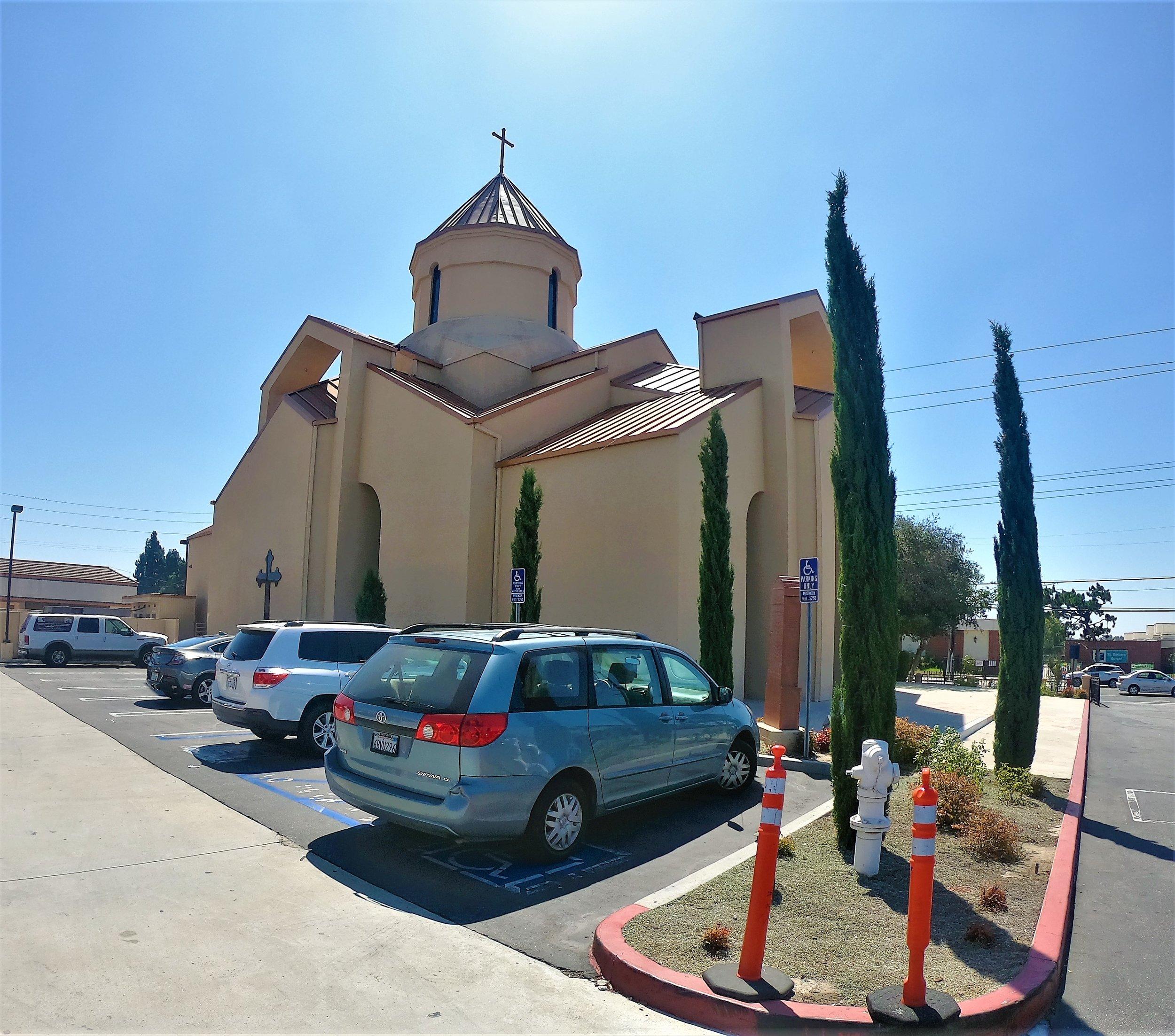 Forty Martyrs Armenian Church in Santa Ana, California