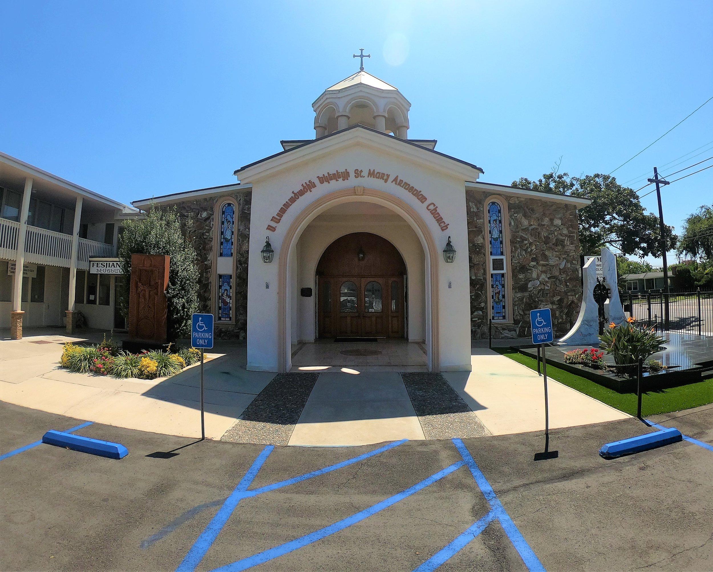 St. Mary Armenian Church in Costa Mesa, California