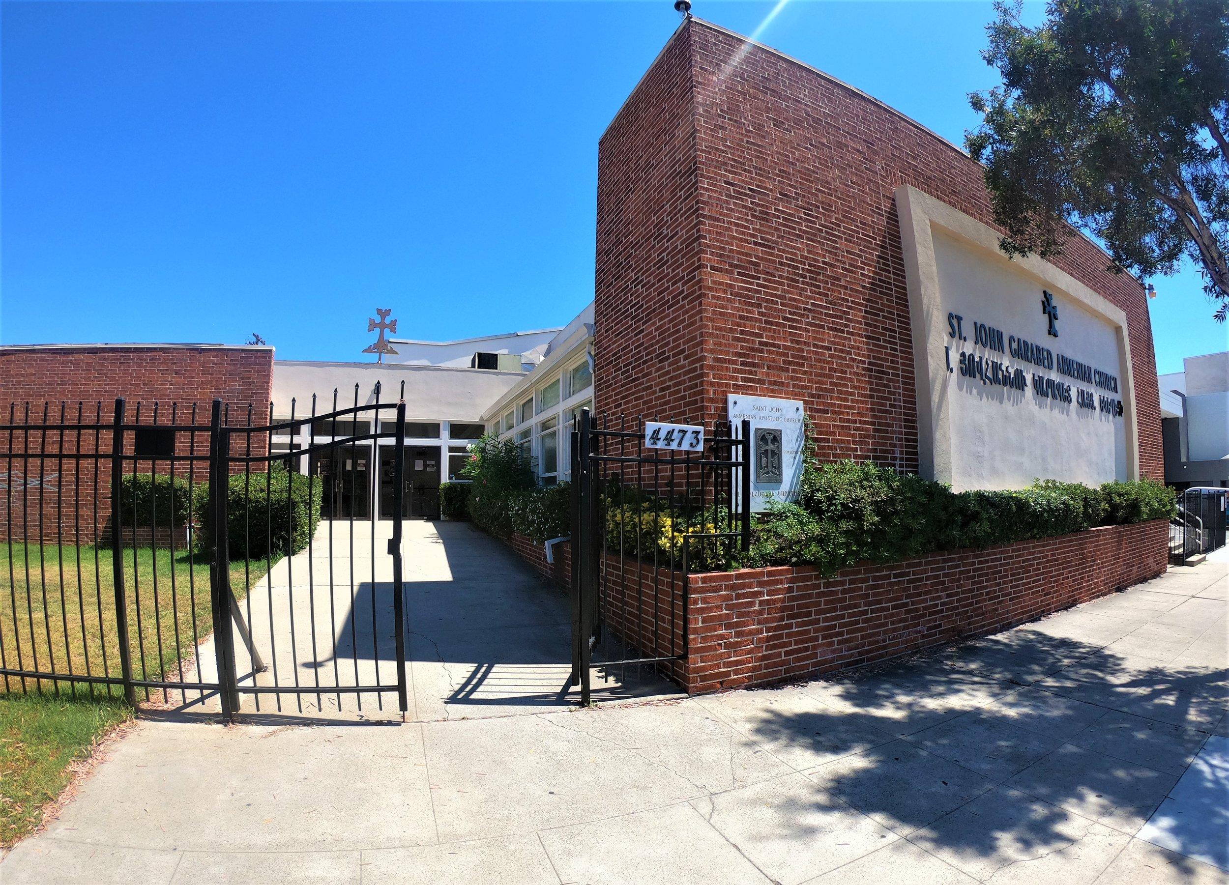 St. John Garabed Armenian Church in San Diego, California