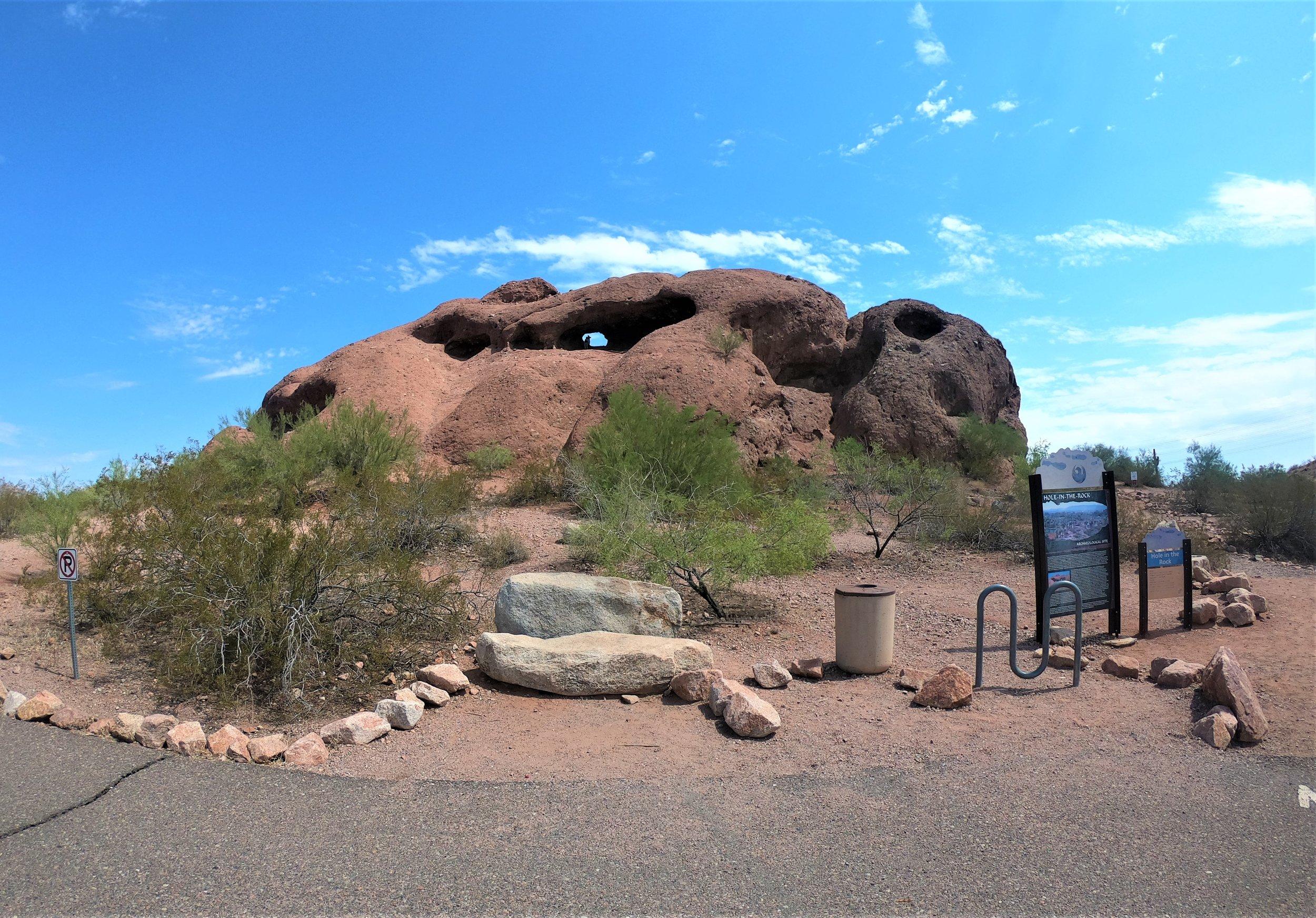 Hole-in-the-Rock in Phoenix, Arizona