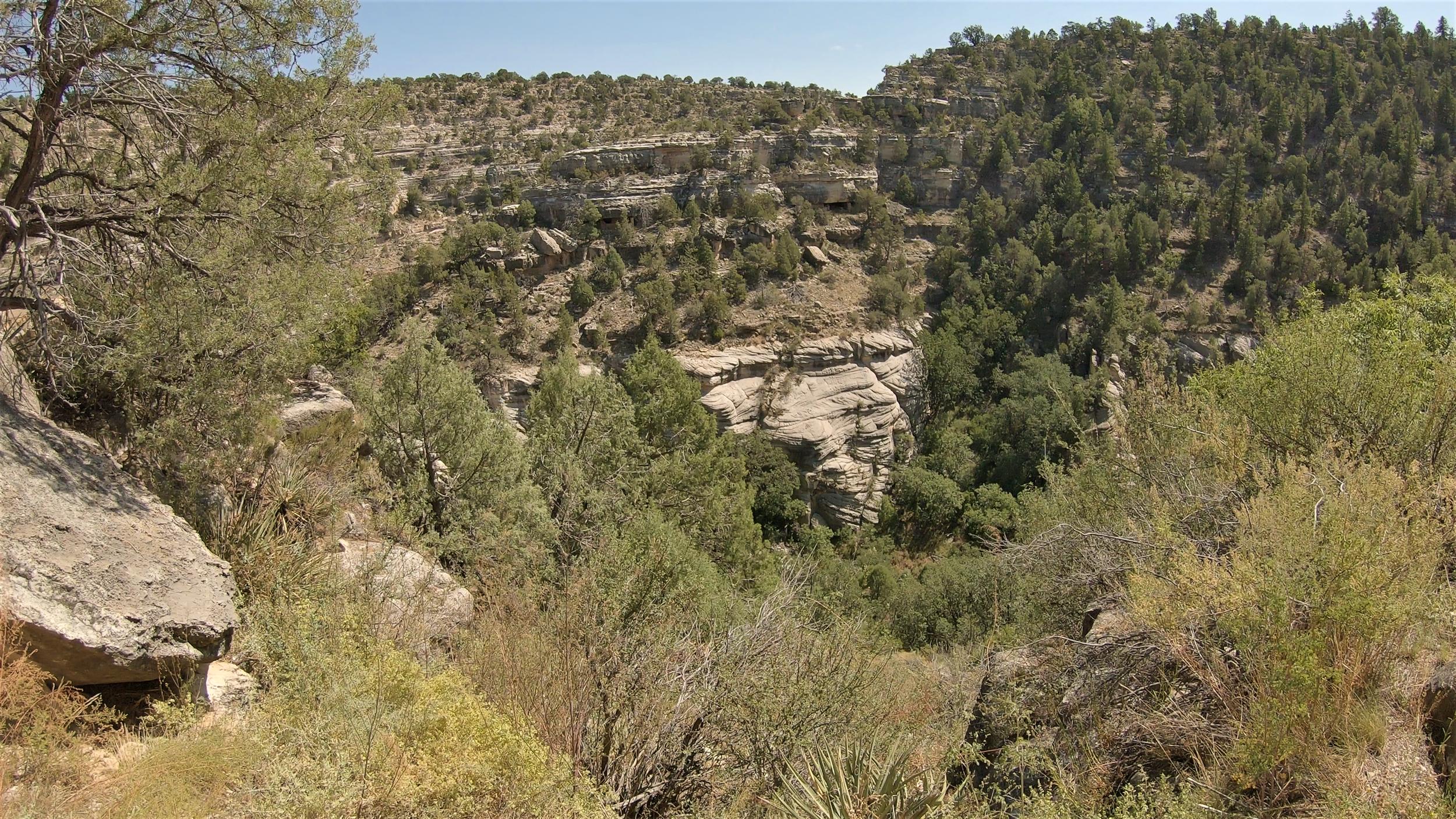 Walnut Canyon in Coconino County, Arizona