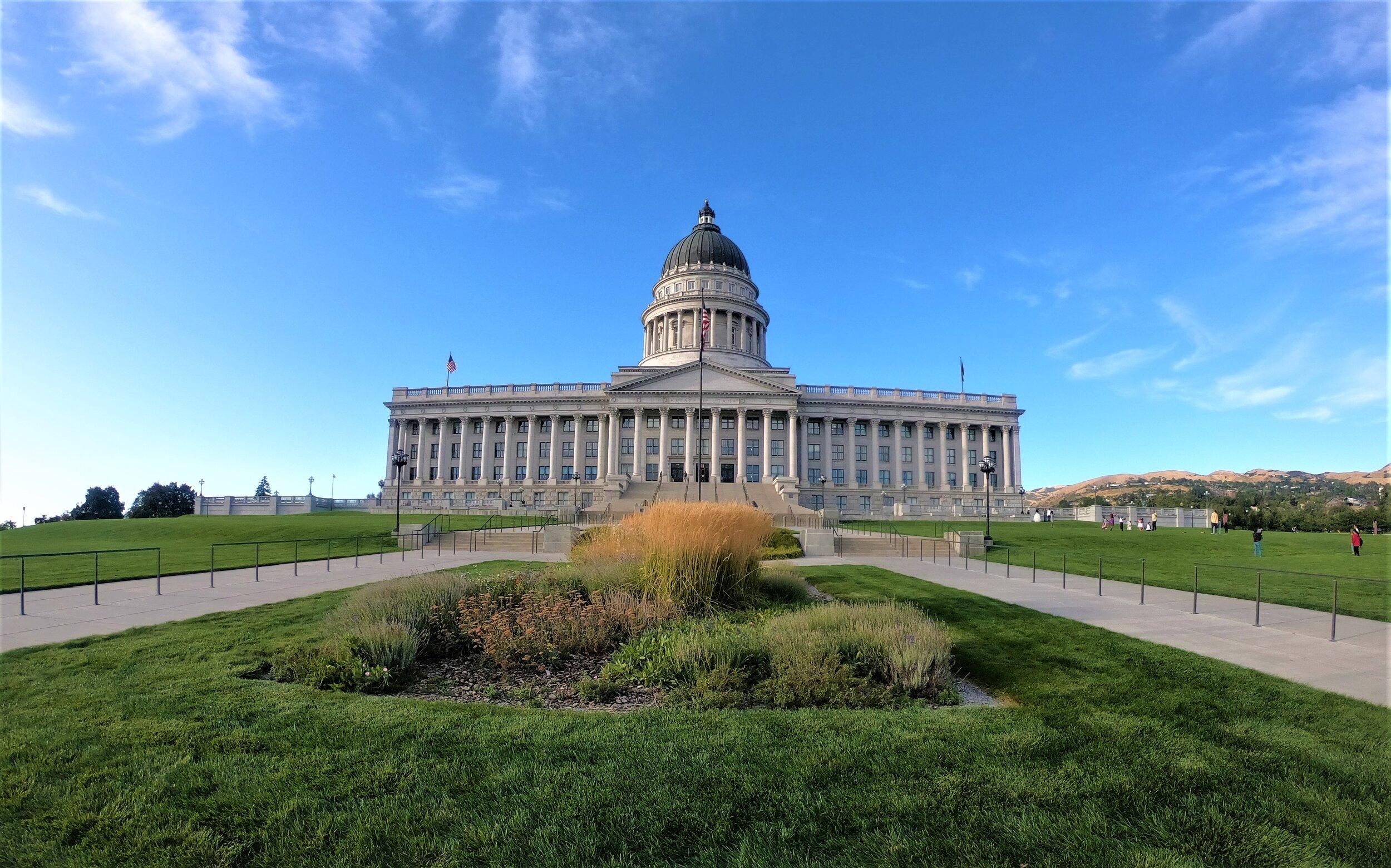 Utah State Capitol in Salt Lake City