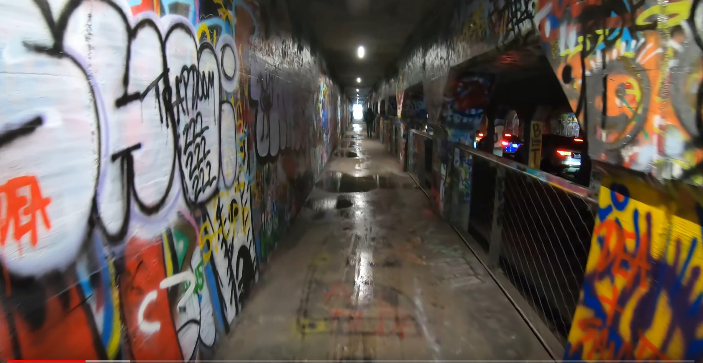 Krog Street Tunnel in Atlanta, Georgia- Graffiti Alley