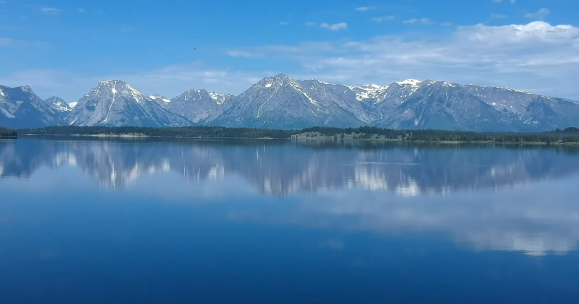 Grand Tetons and Yellowstone- including aerial