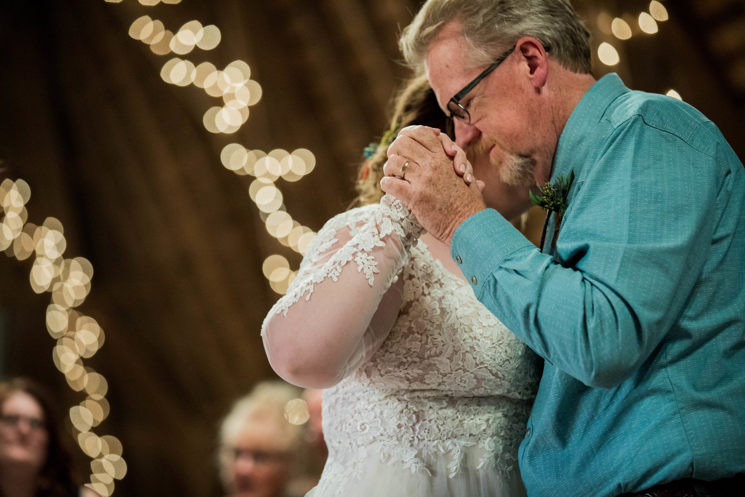 The Barn at Back Acres Farm - Southeastern Wisconsin Wedding Venue - Father Daughter Dance