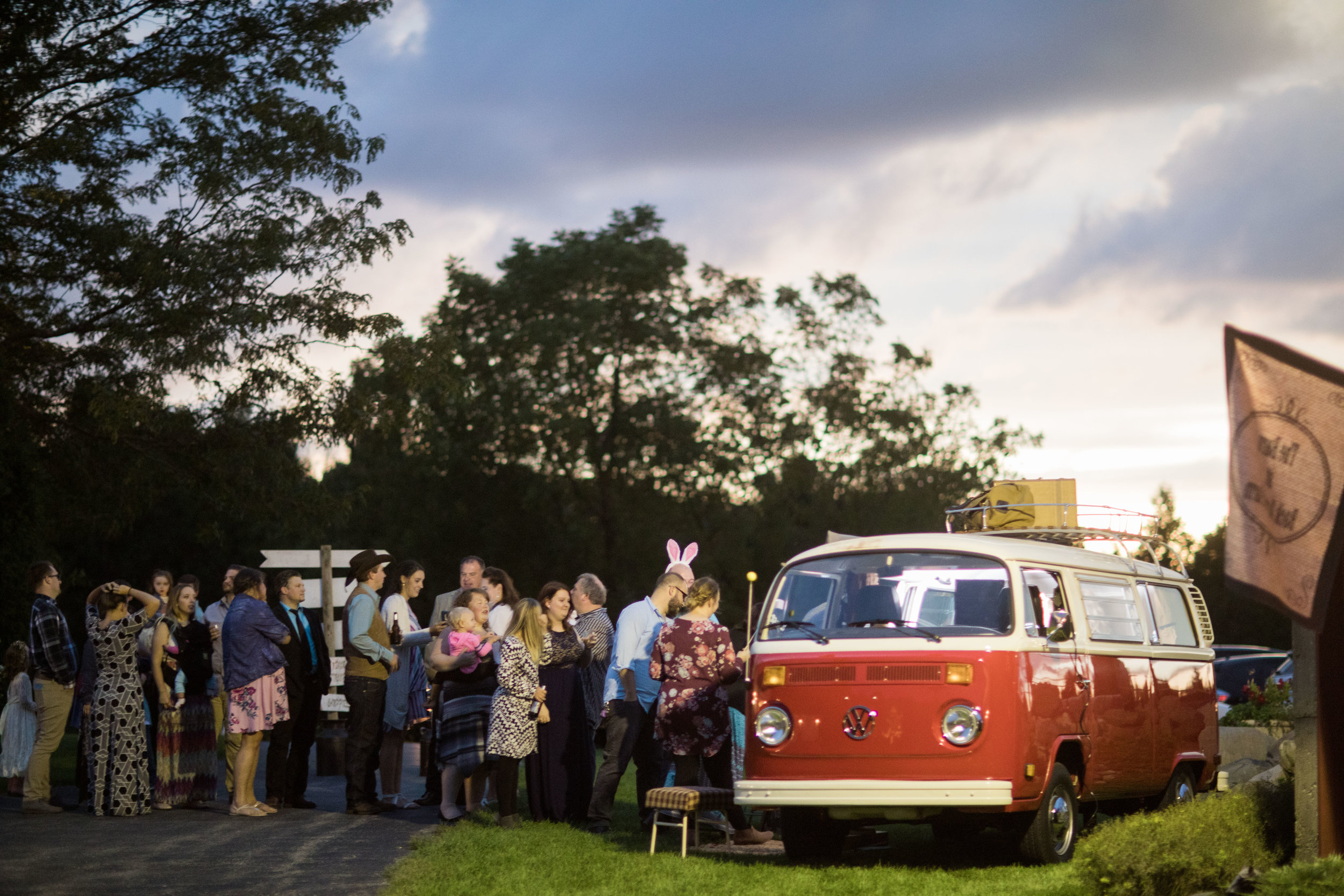Photo Booth in Vintage Van - Big Foot Foto Company